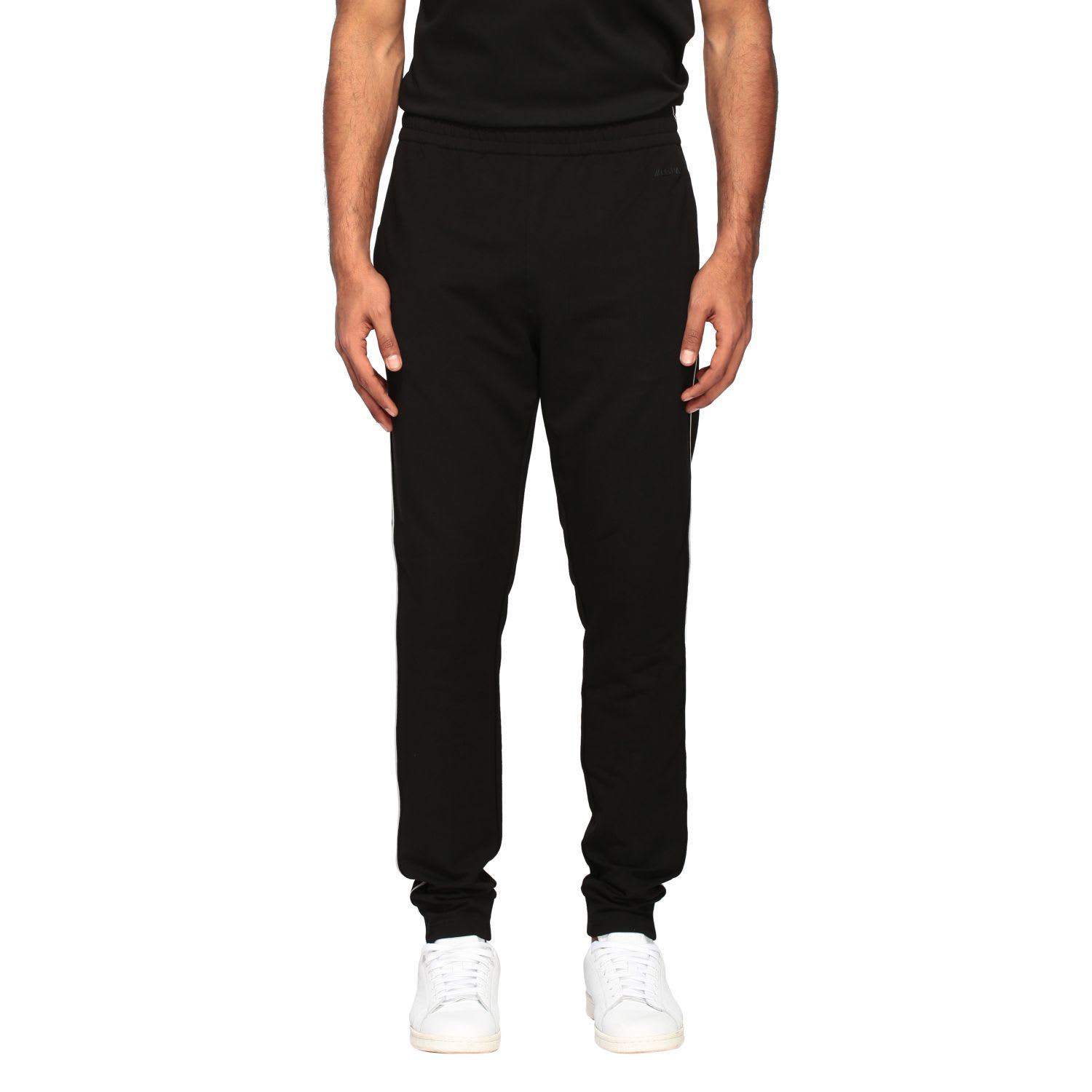Z Zegna Pants JOGGING TROUSERS WITH CONTRASTING EDGES