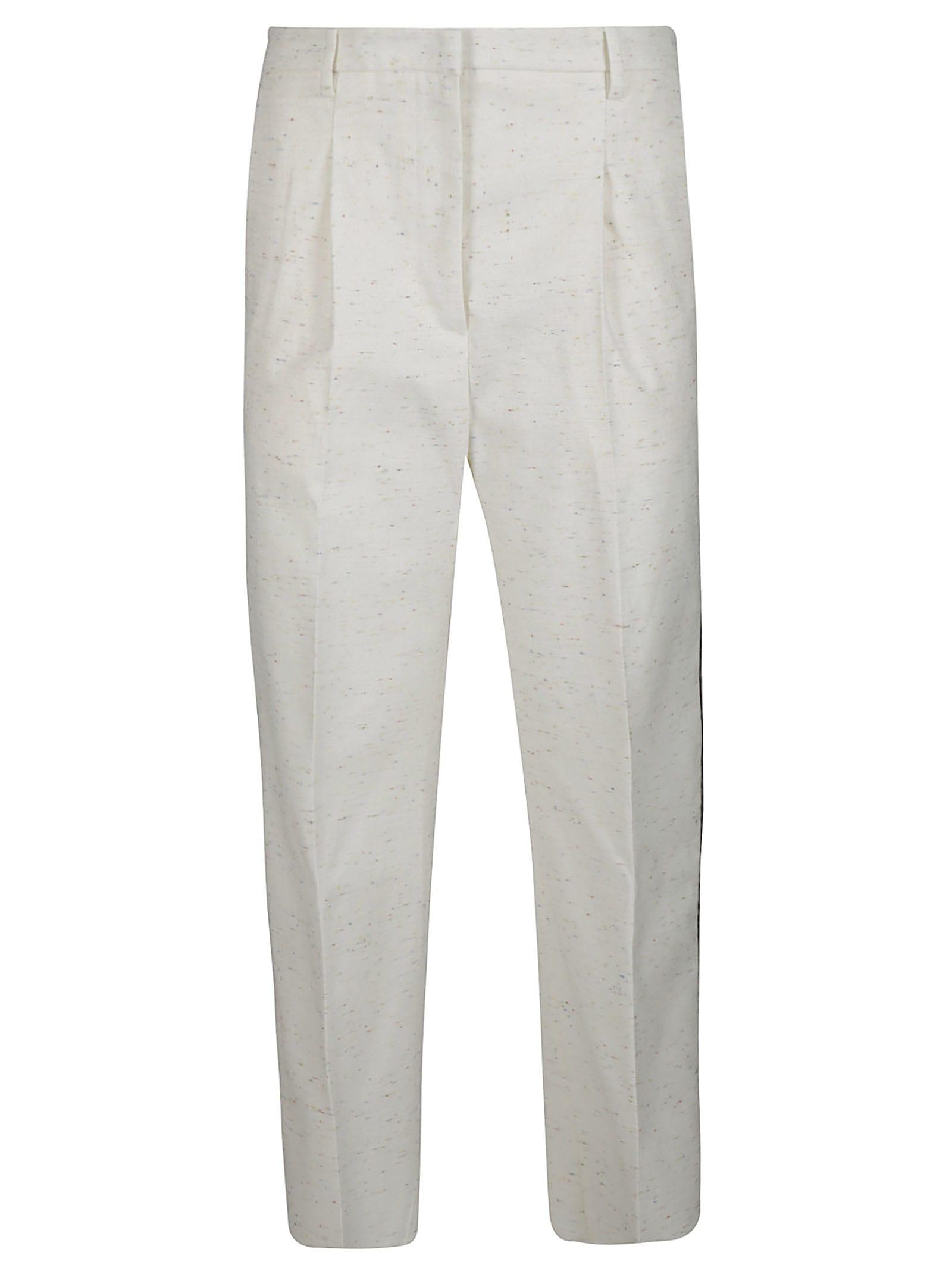 Golden Goose White Cotton Trousers