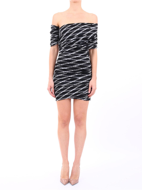 Balenciaga Stretch Dress Monogram