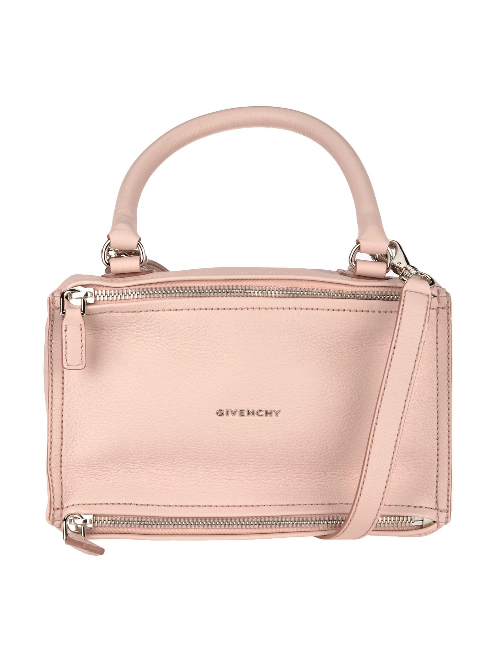 Givenchy Pandora Shoulder Bag In Pale Pink