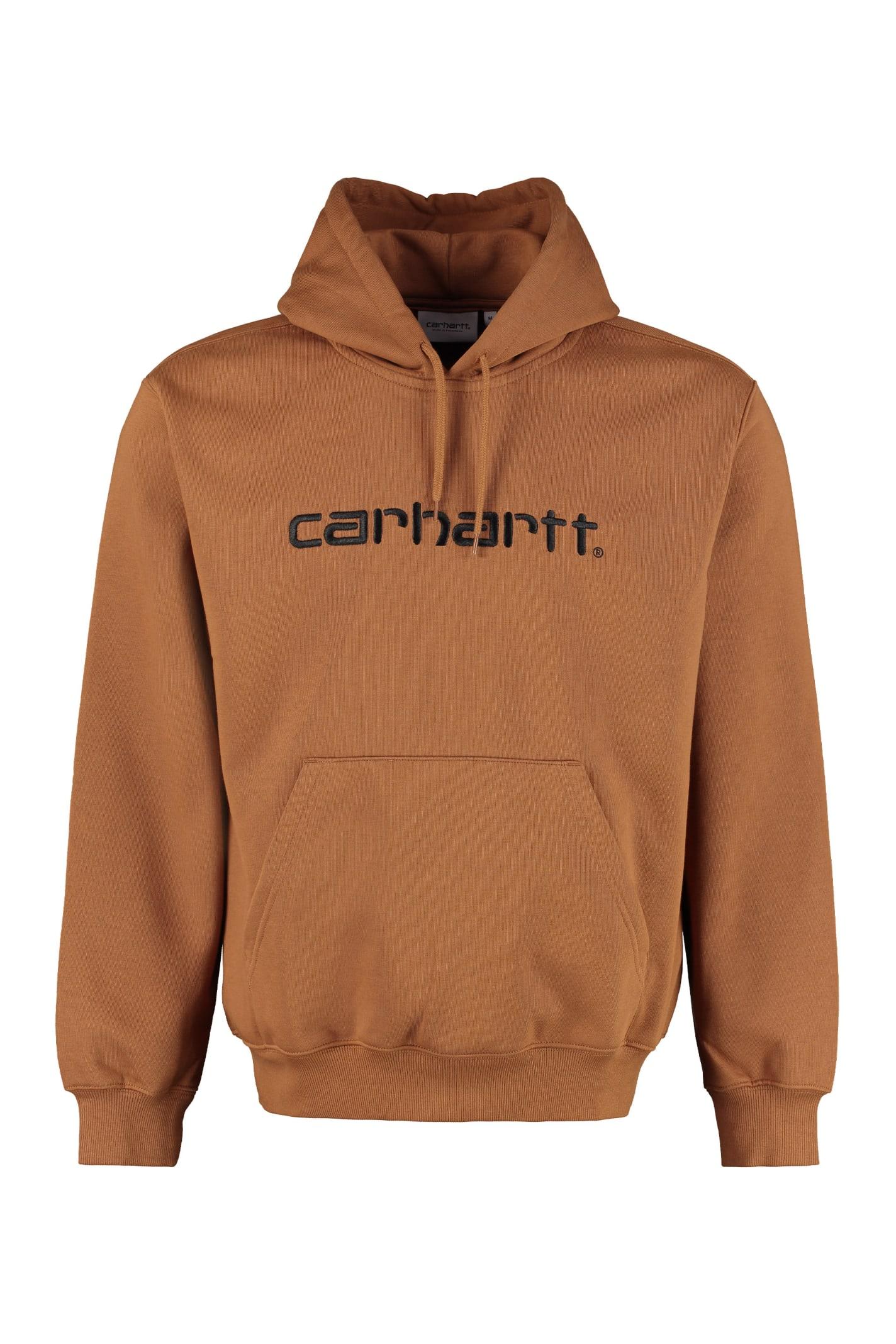 Carhartt T-shirts EMBROIDERED LOGO SWEATSHIRT