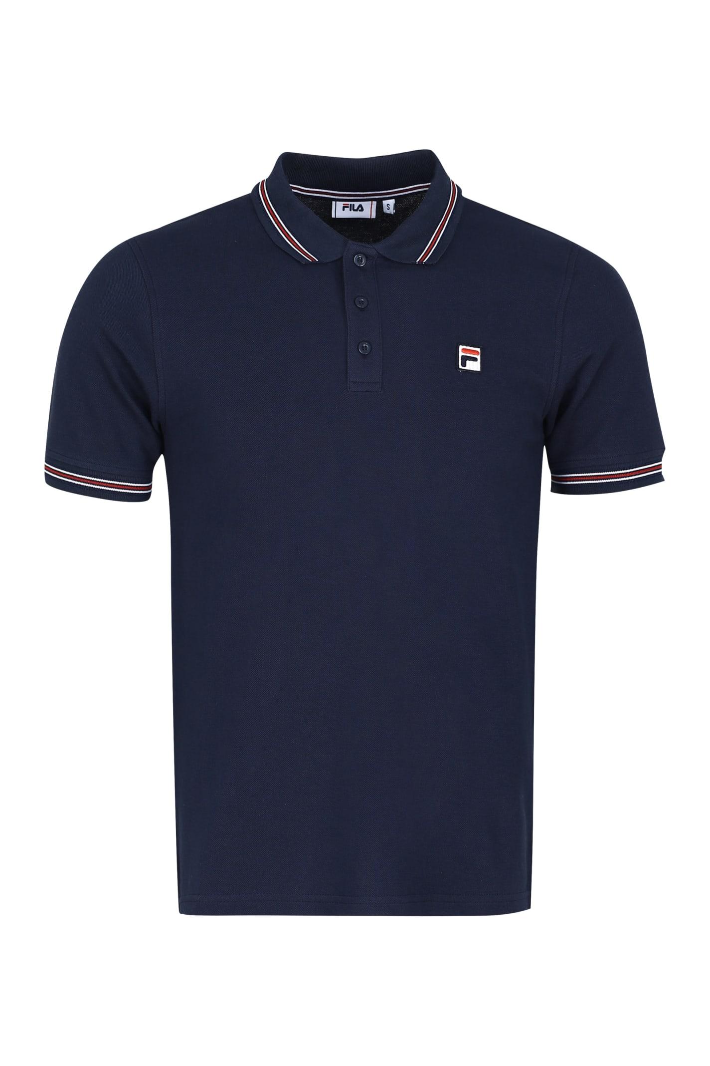 Fila Cotton-piqué Polo Shirt