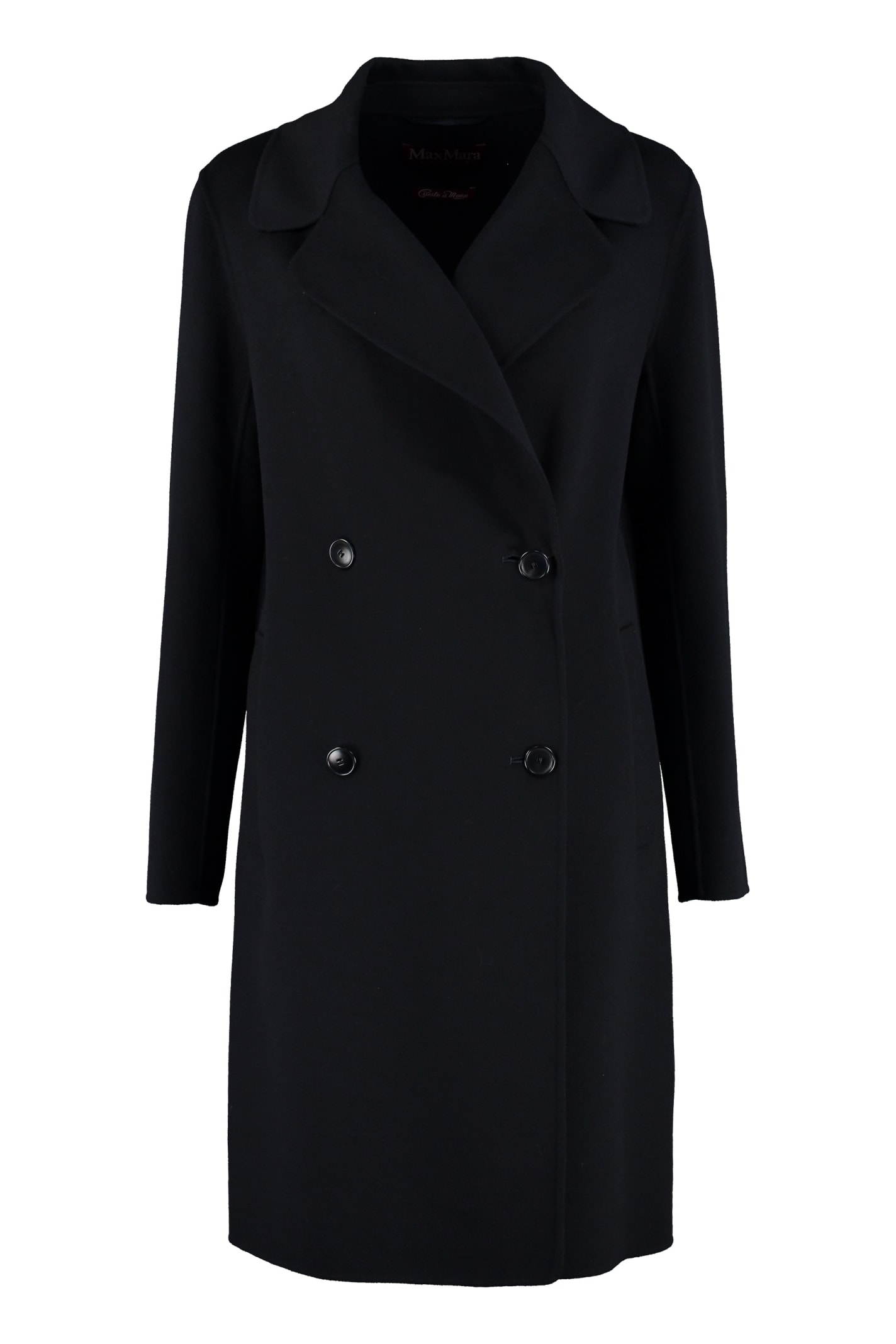 Max Mara Studio Verbano Double-breasted Coat