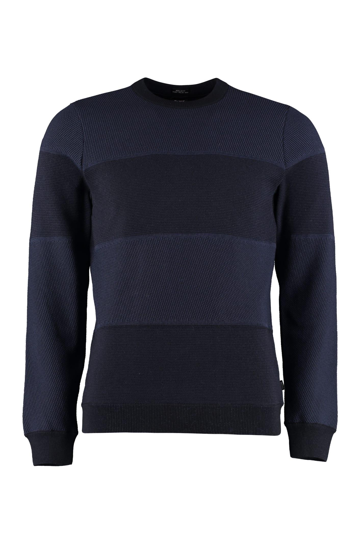 Hugo Boss Long-sleeved Crew-neck Sweater