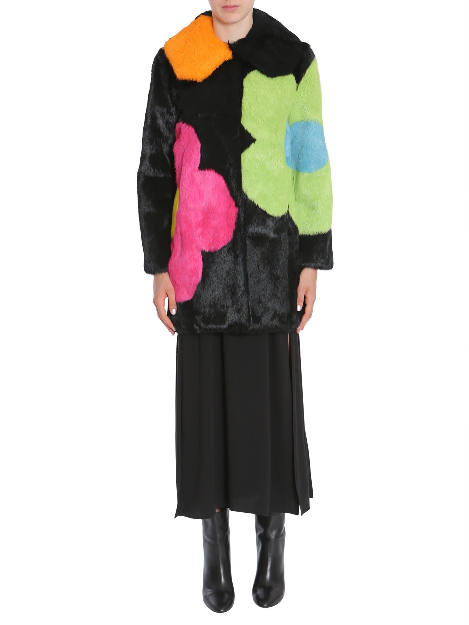 Boutique Moschino Long Fur Coat