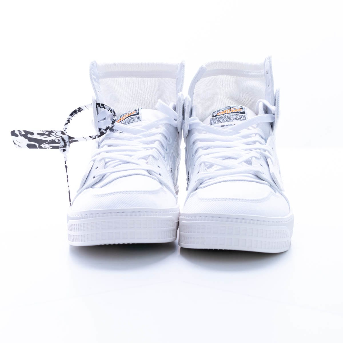Off-white Off Court Canvas Sneaker In White - White