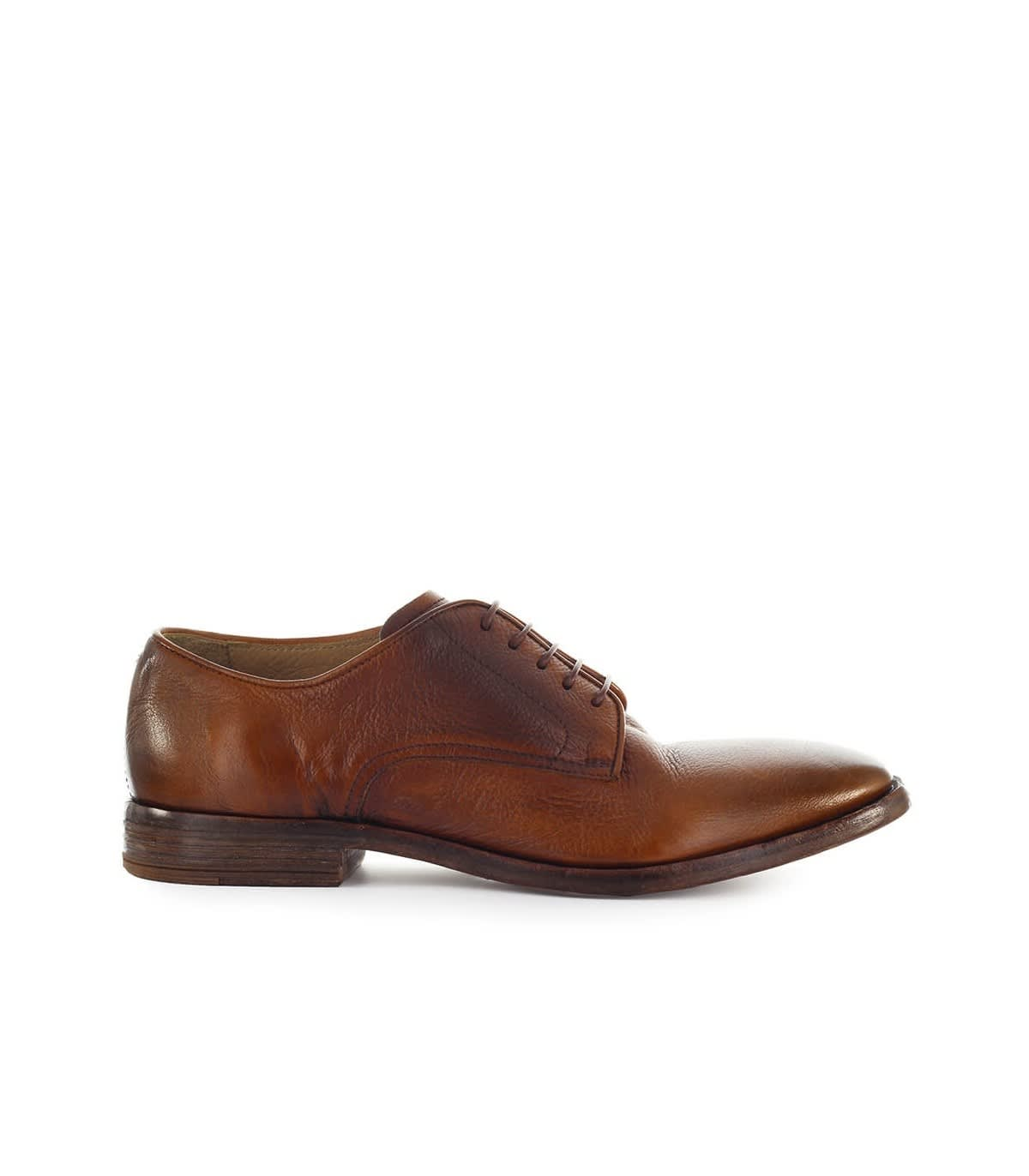 Moma Light Brown Derby Lace Up