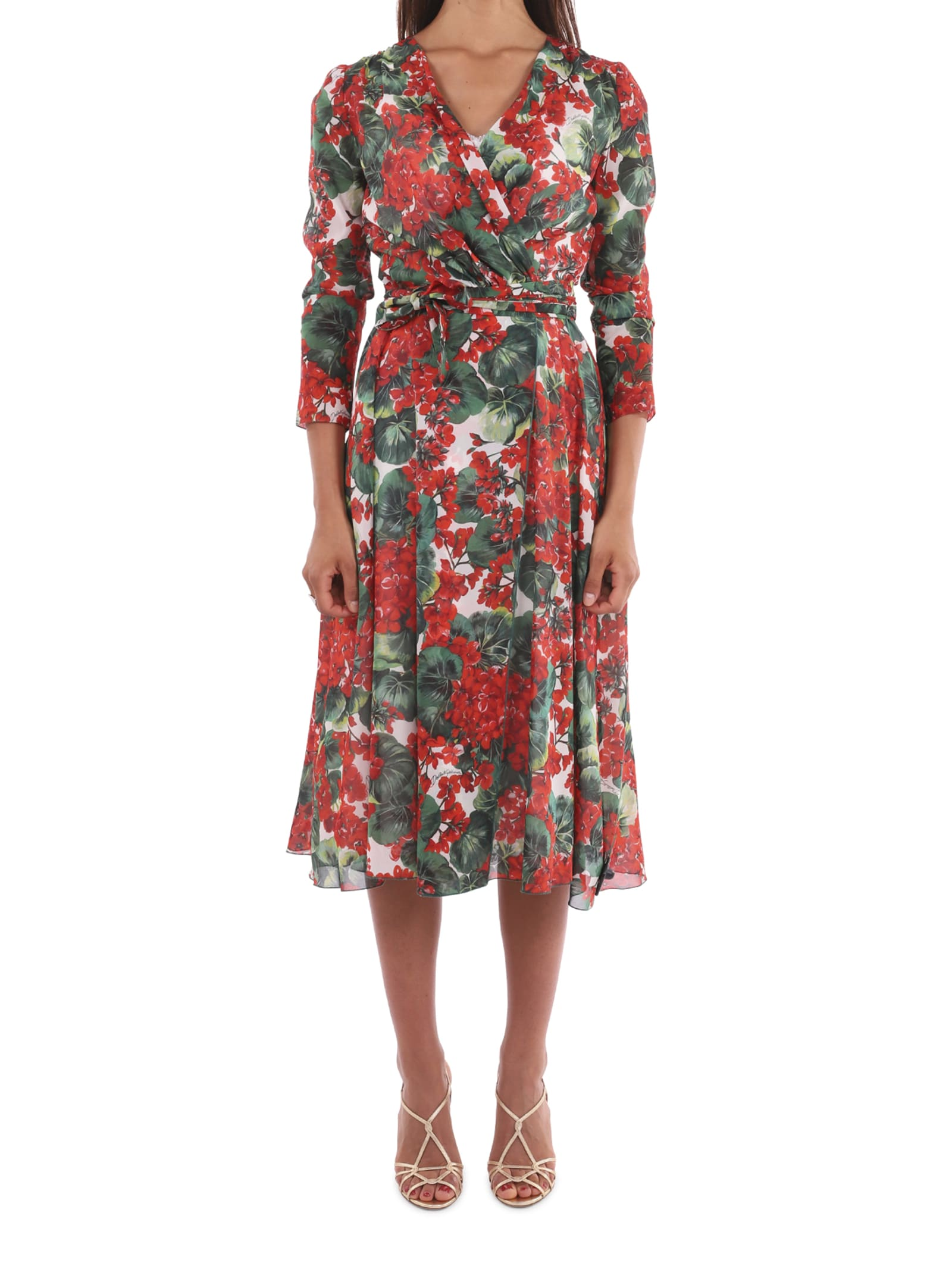 Dolce & Gabbana Geranium Dress