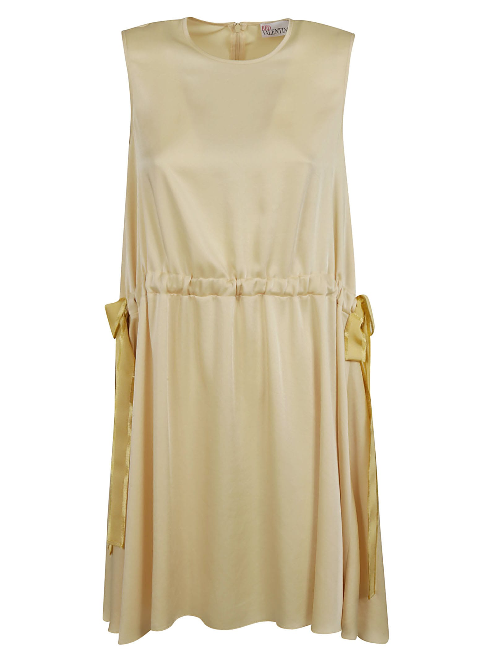 Buy RED Valentino Sleeveless Side Bow Detail Dress online, shop RED Valentino with free shipping