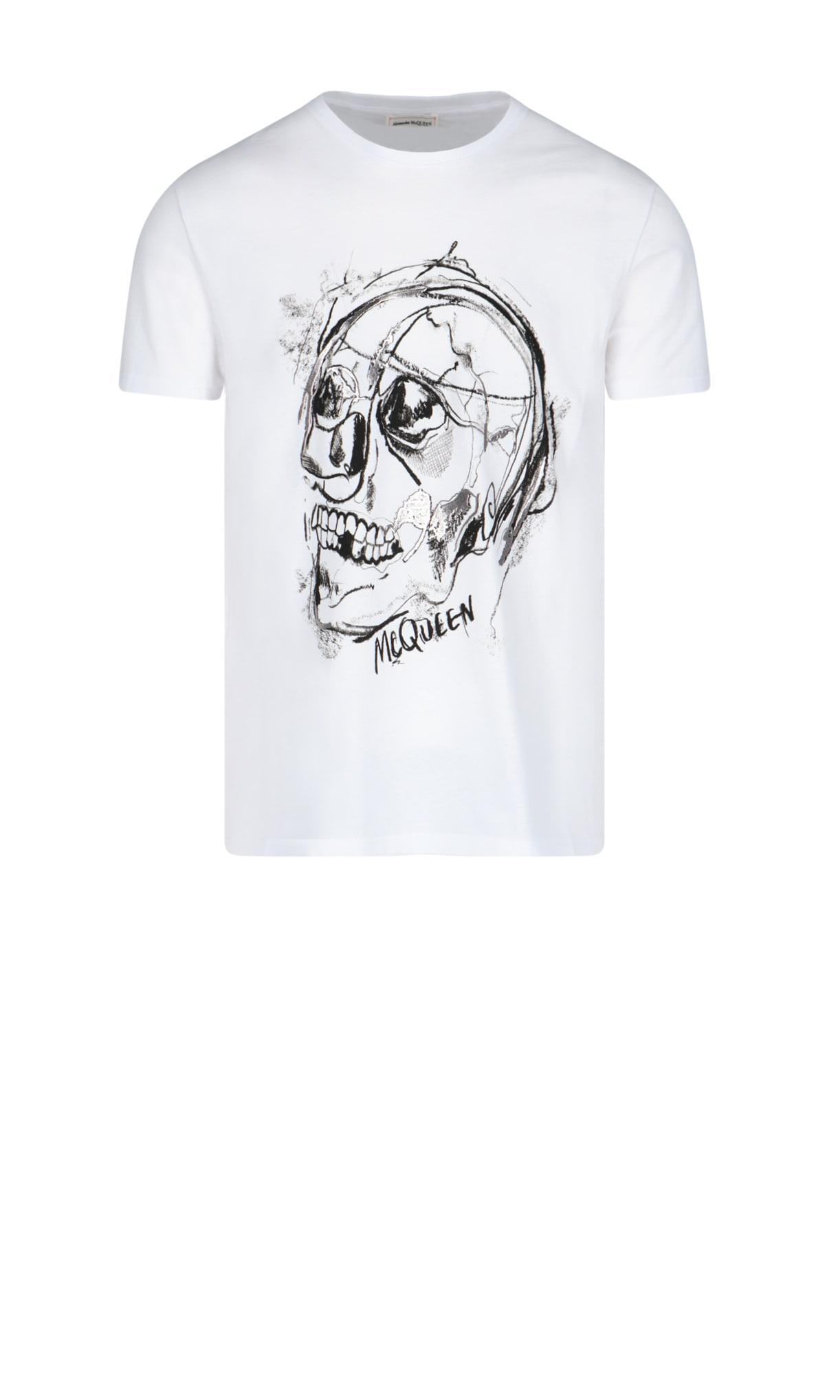 Alexander Mcqueen T-shirts SHORT SLEEVE T-SHIRT