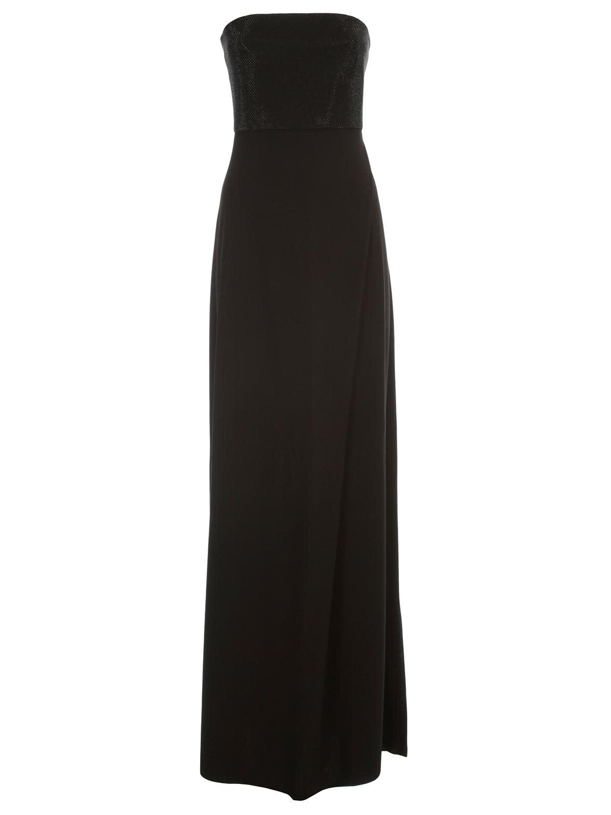 Buy Emporio Armani Maxi Dress Brassiere W/paillettes online, shop Emporio Armani with free shipping