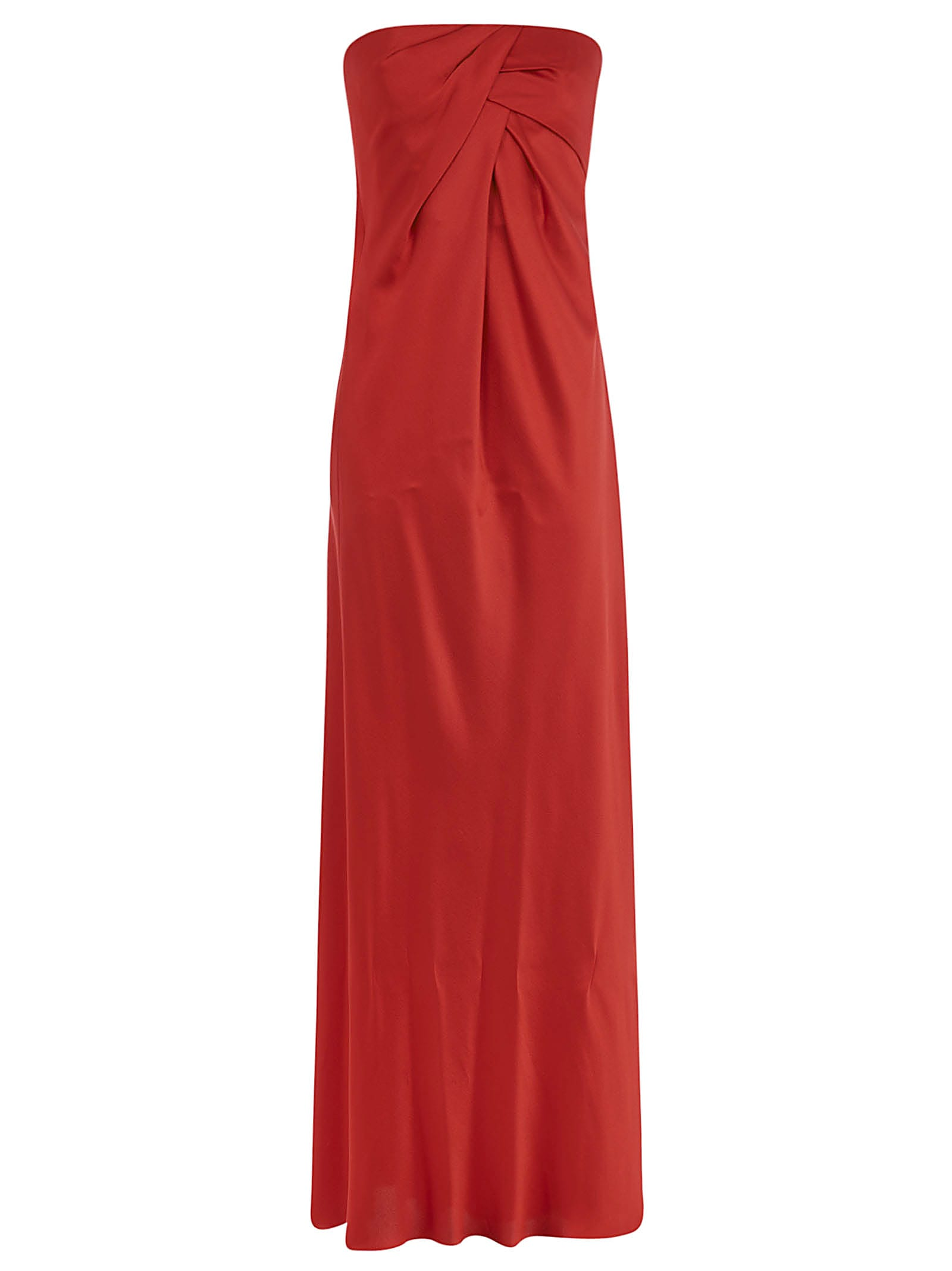 Buy Alberta Ferretti Draped Maxi Dress online, shop Alberta Ferretti with free shipping
