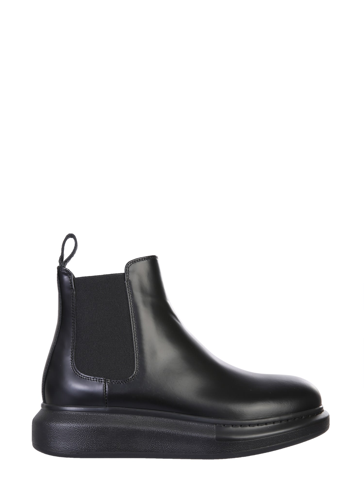Buy Alexander McQueen Chelsea Hybrid Boots online, shop Alexander McQueen shoes with free shipping