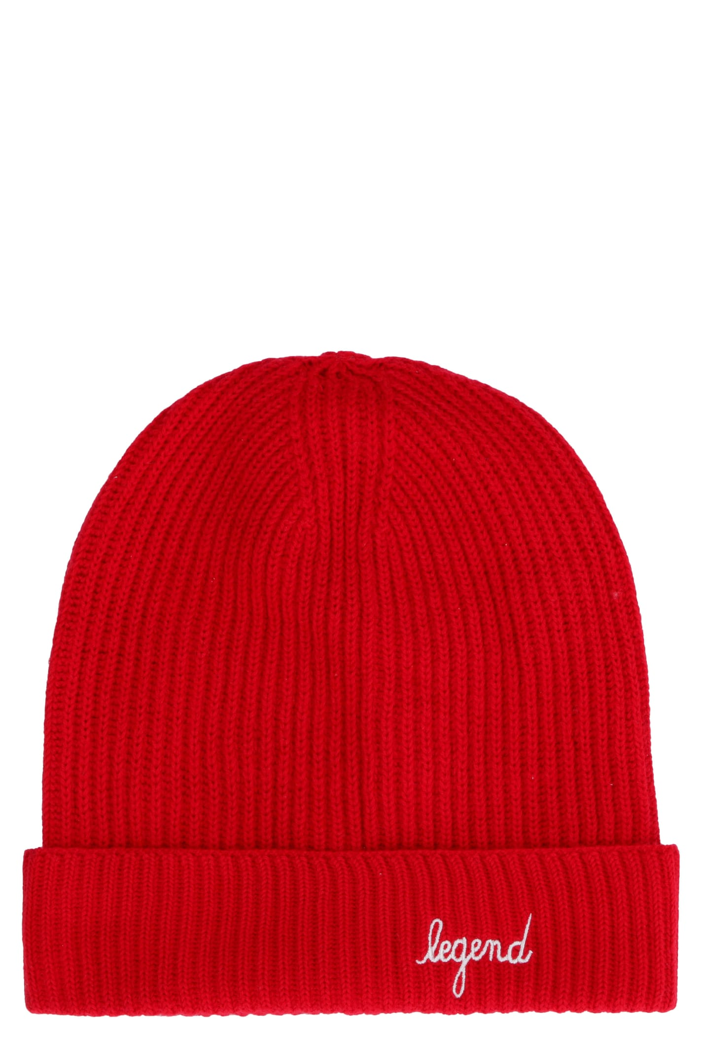 Legend Ribbed Knit Beanie