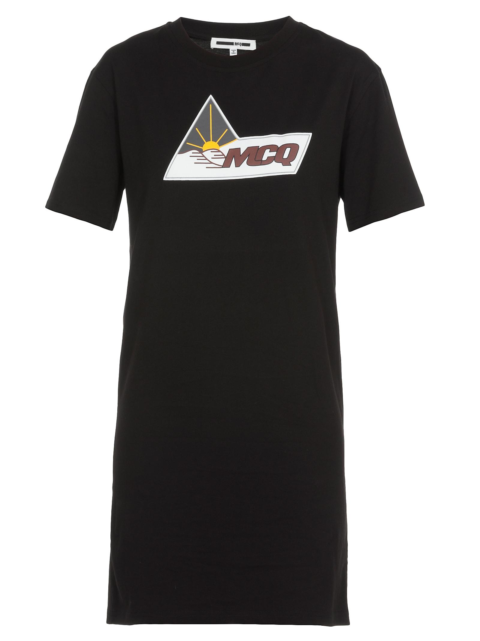 McQ Alexander McQueen Logo Dress