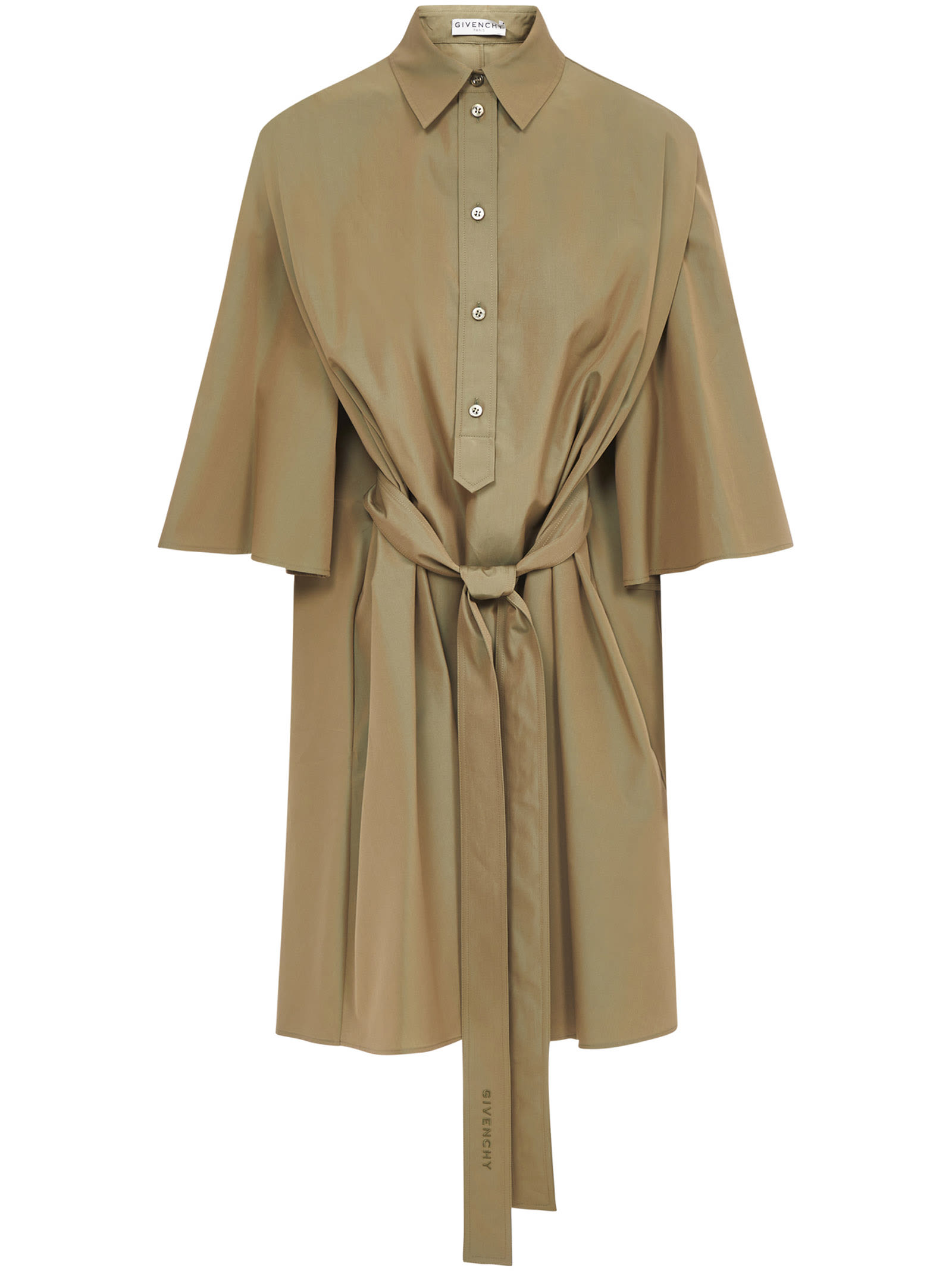 Givenchy Dress In Military Green