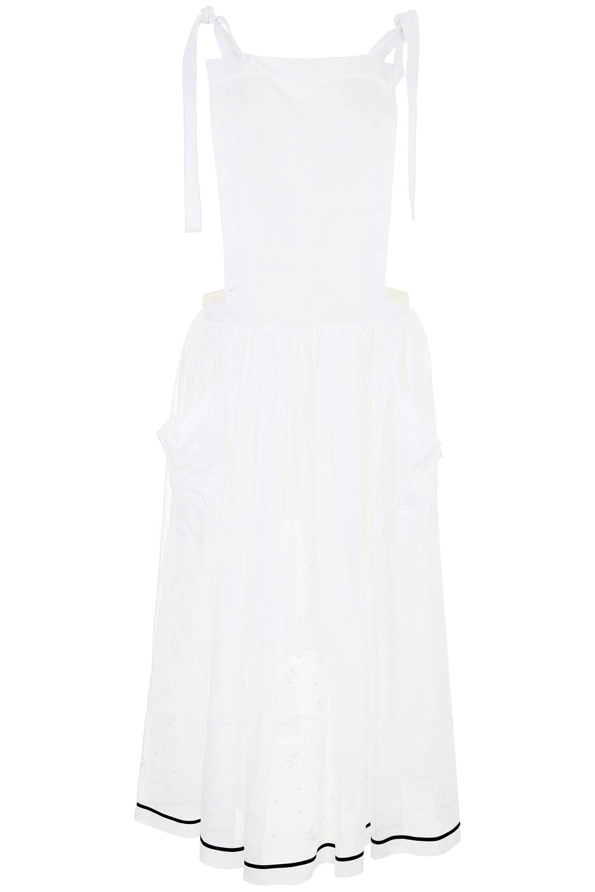 Philosophy di Lorenzo Serafini Long Embroidered Dress