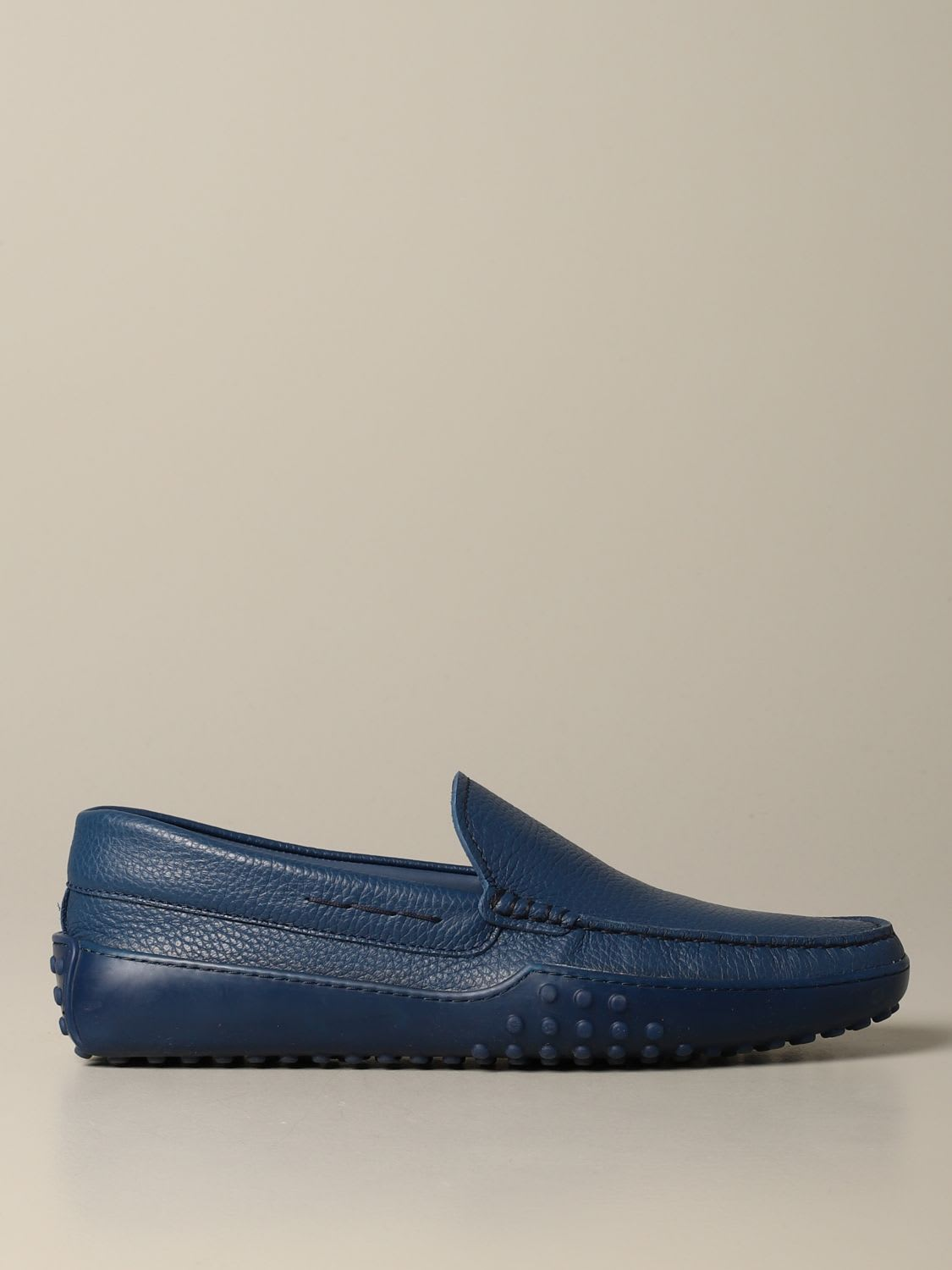 Tods Loafers Tods Gommini Moccasin In Textured Leather