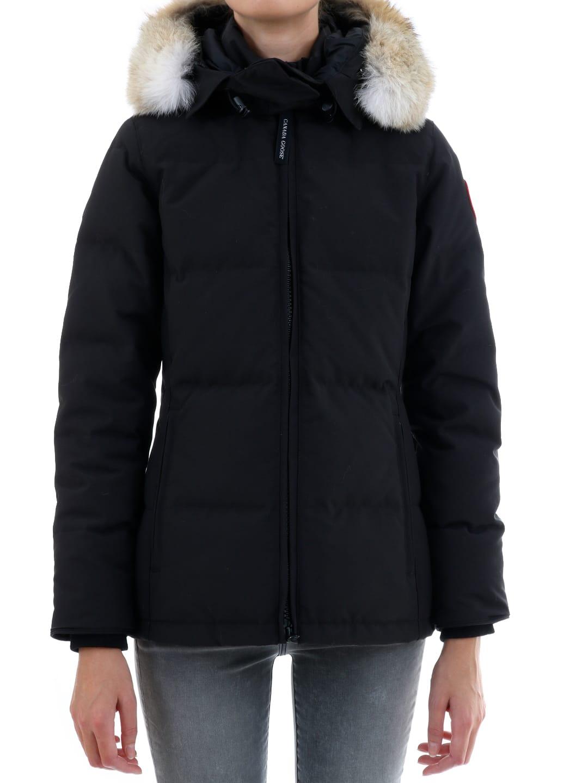 Photo of  Canada Goose Chelsea Parka Black- shop Canada Goose jackets online sales