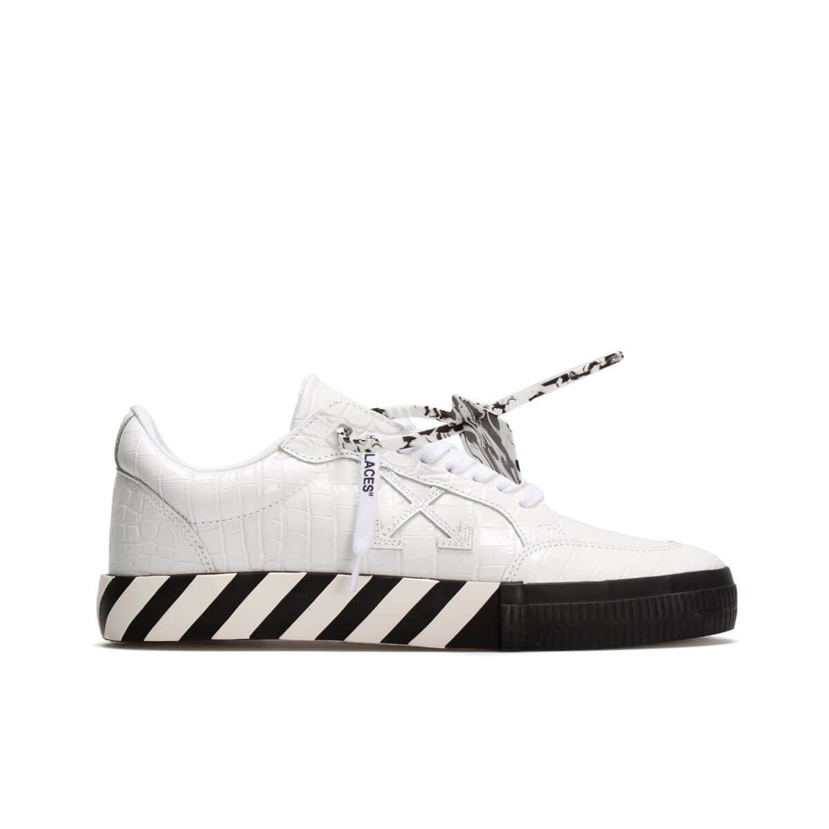 Off-white Low Vulcanized Sneakers In White