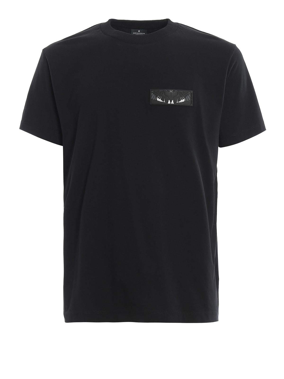 Marcelo Burlon County Of Milan T-shirts SHORT SLEEVE T-SHIRT