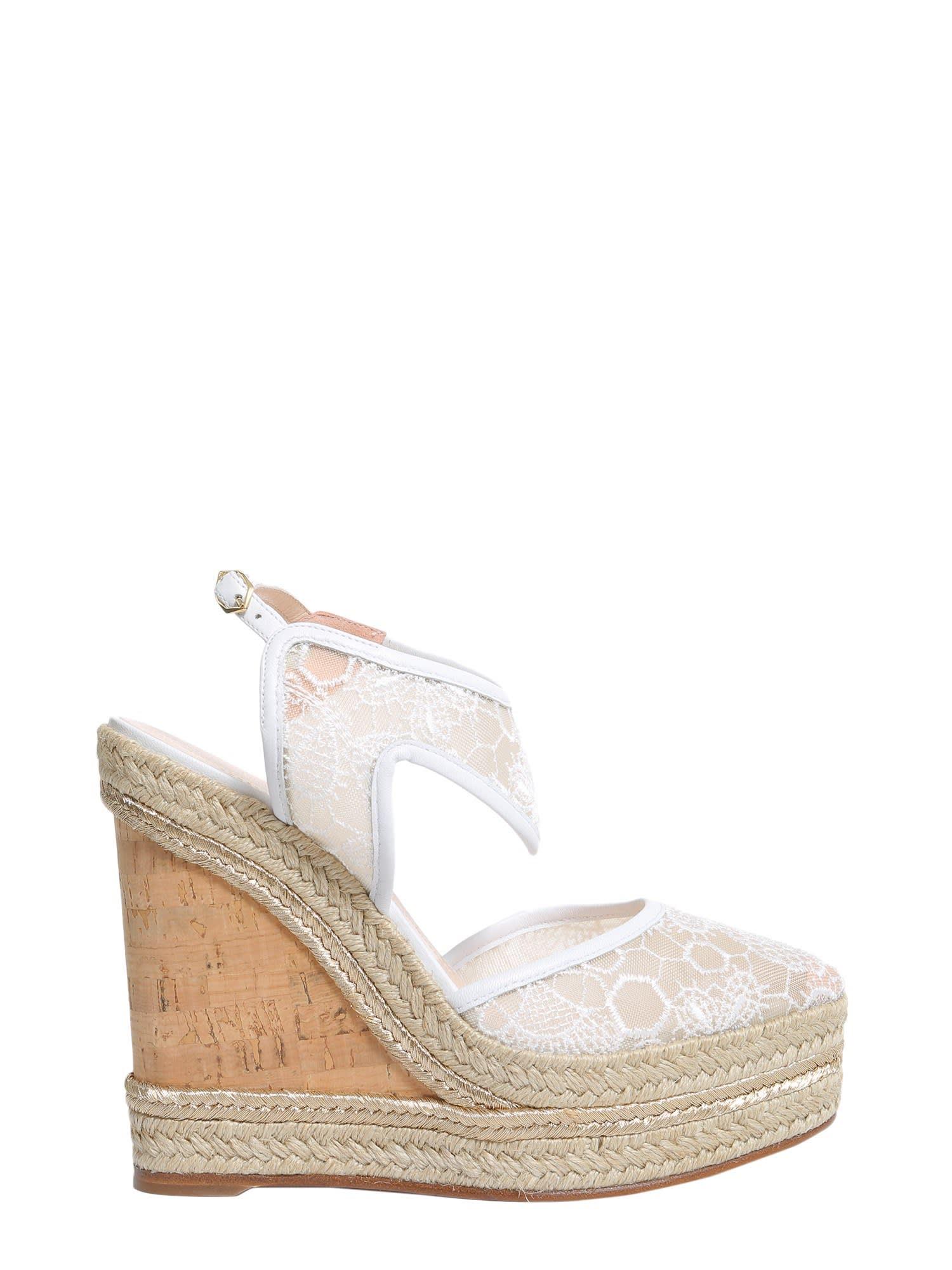 Buy Nicholas Kirkwood Leda Wedge Espadrilles online, shop Nicholas Kirkwood shoes with free shipping