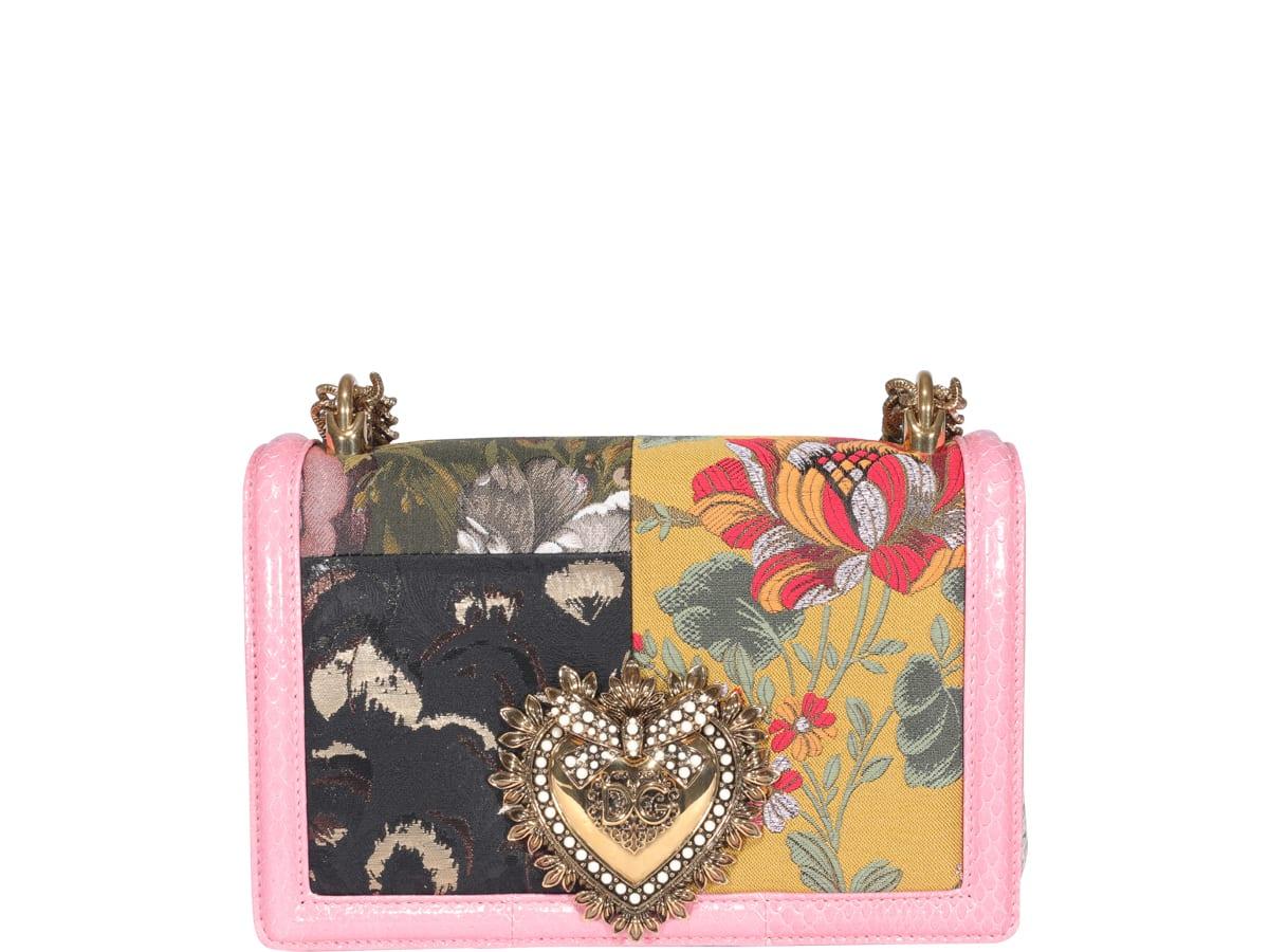 Dolce & Gabbana Leathers DEVOTION SHOULDER BAG