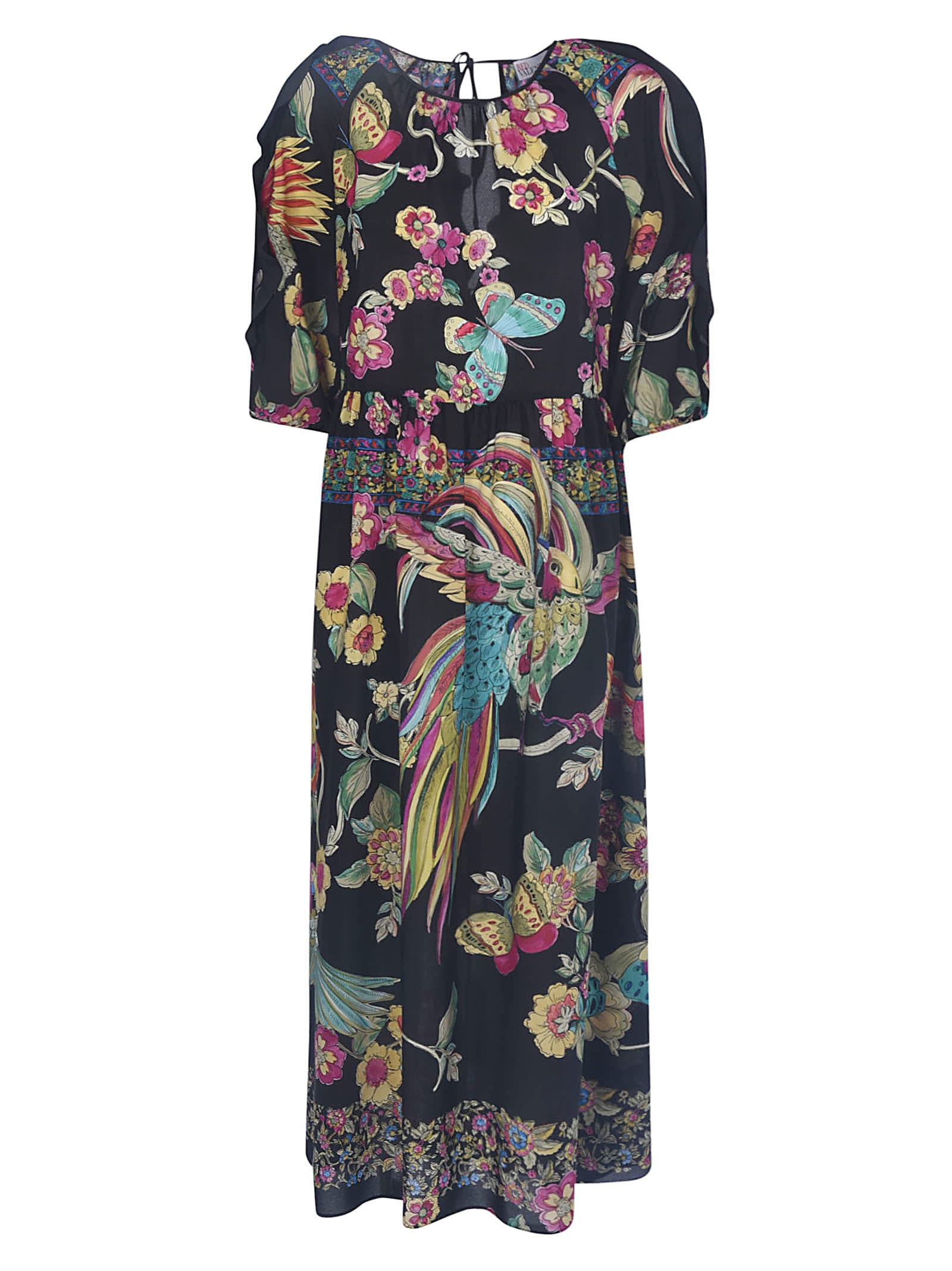 Buy RED Valentino Printed Maxi Dress online, shop RED Valentino with free shipping