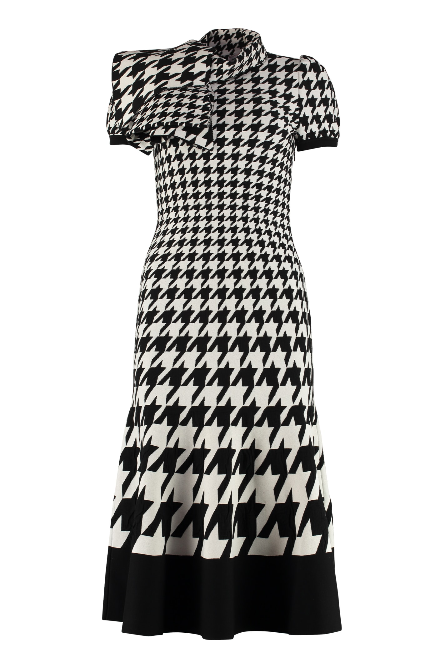 Alexander McQueen Jacquard Knit Midi-dress
