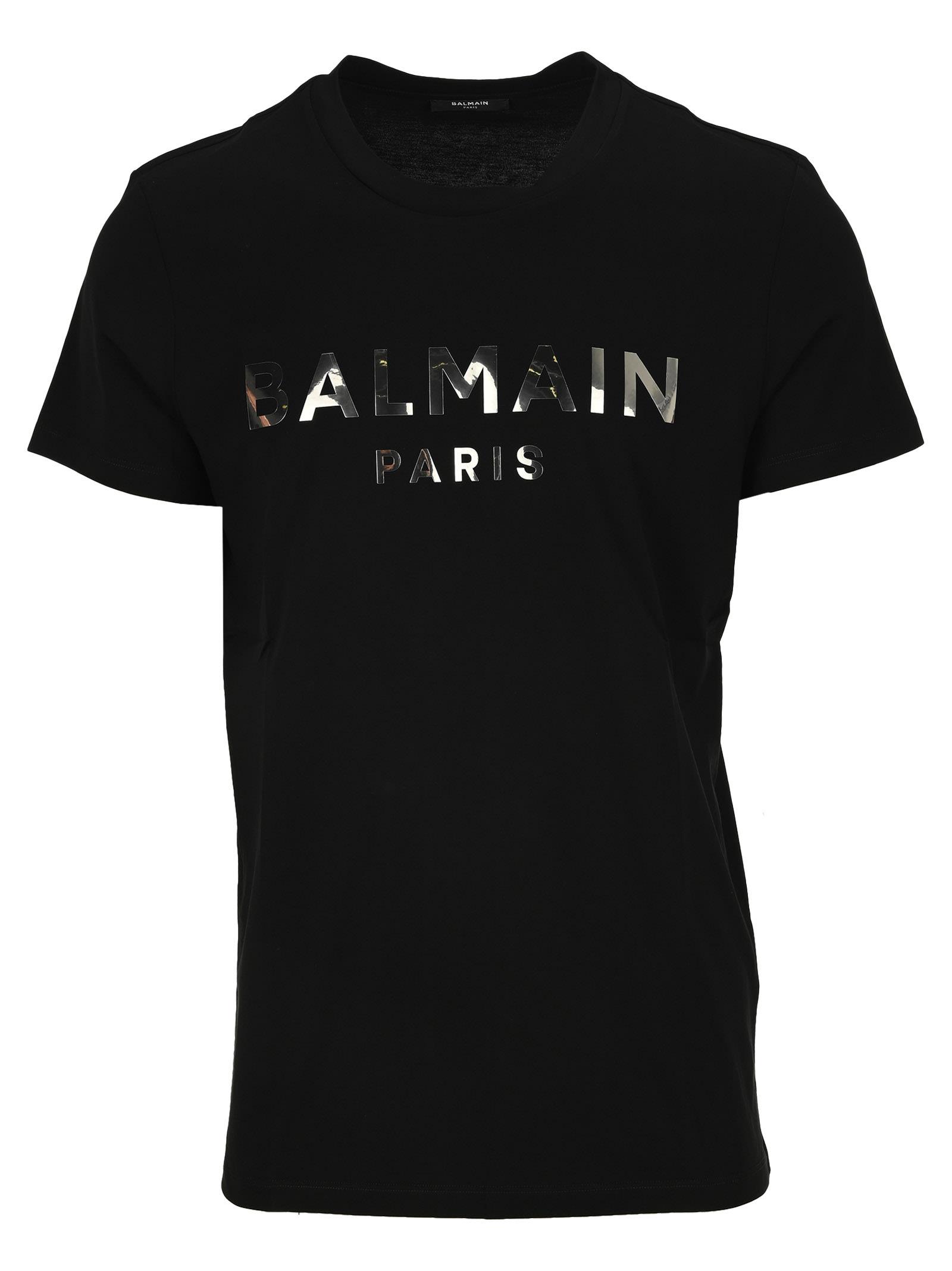 Balmain T-shirt Logo