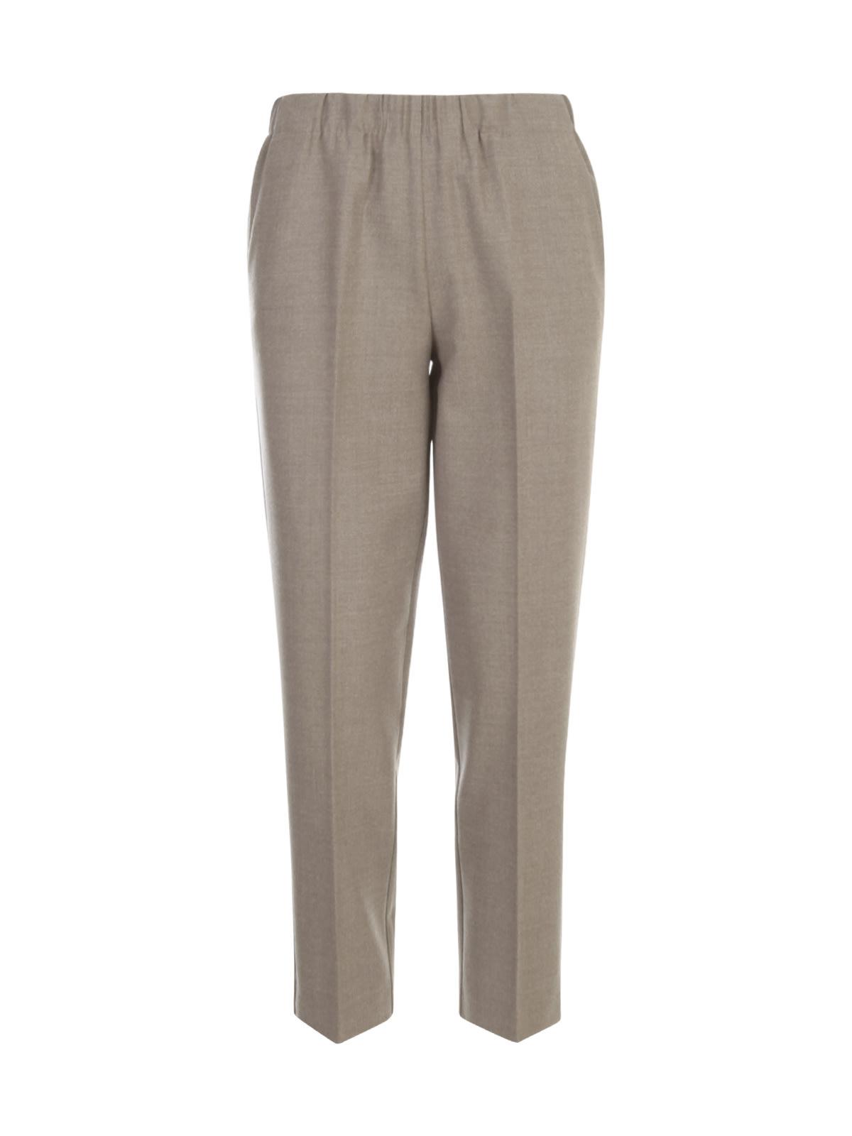 George Elastic Waist Pants W/slim Bottom