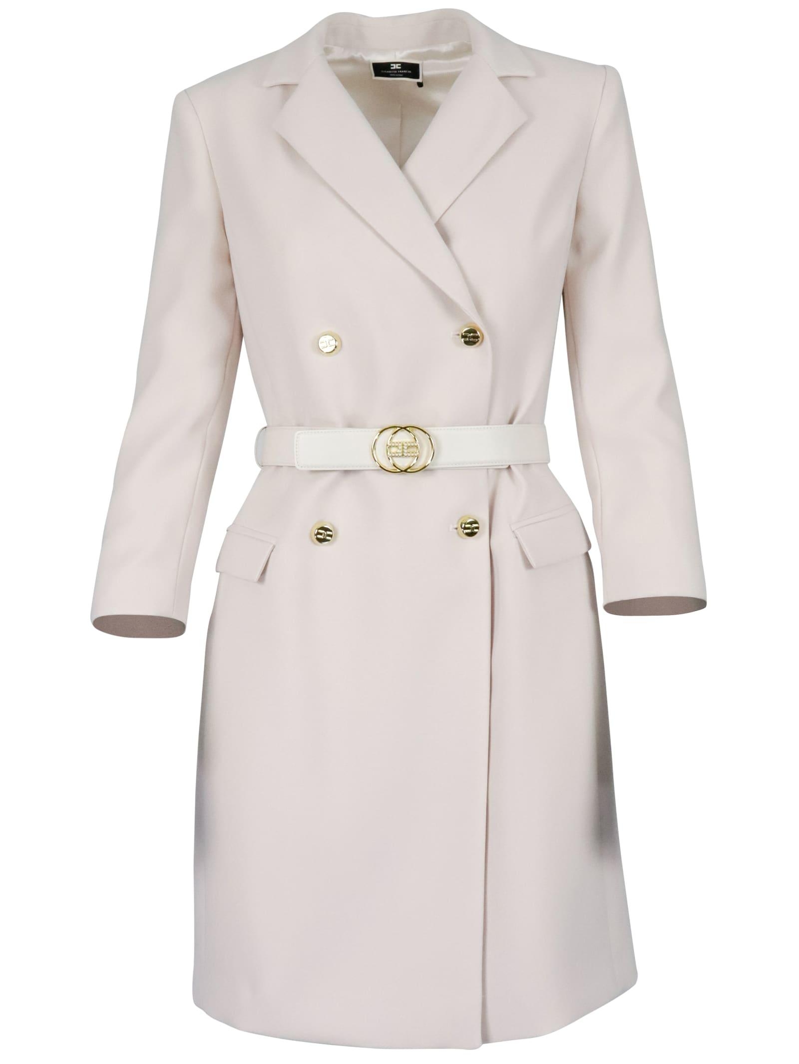 Elisabetta Franchi Belt Dress Dress