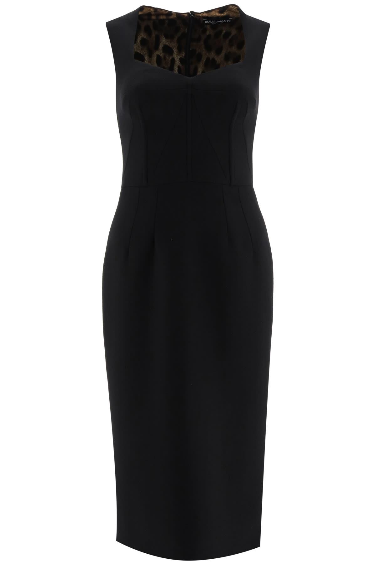 Dolce & Gabbana Midi Pencil Dress
