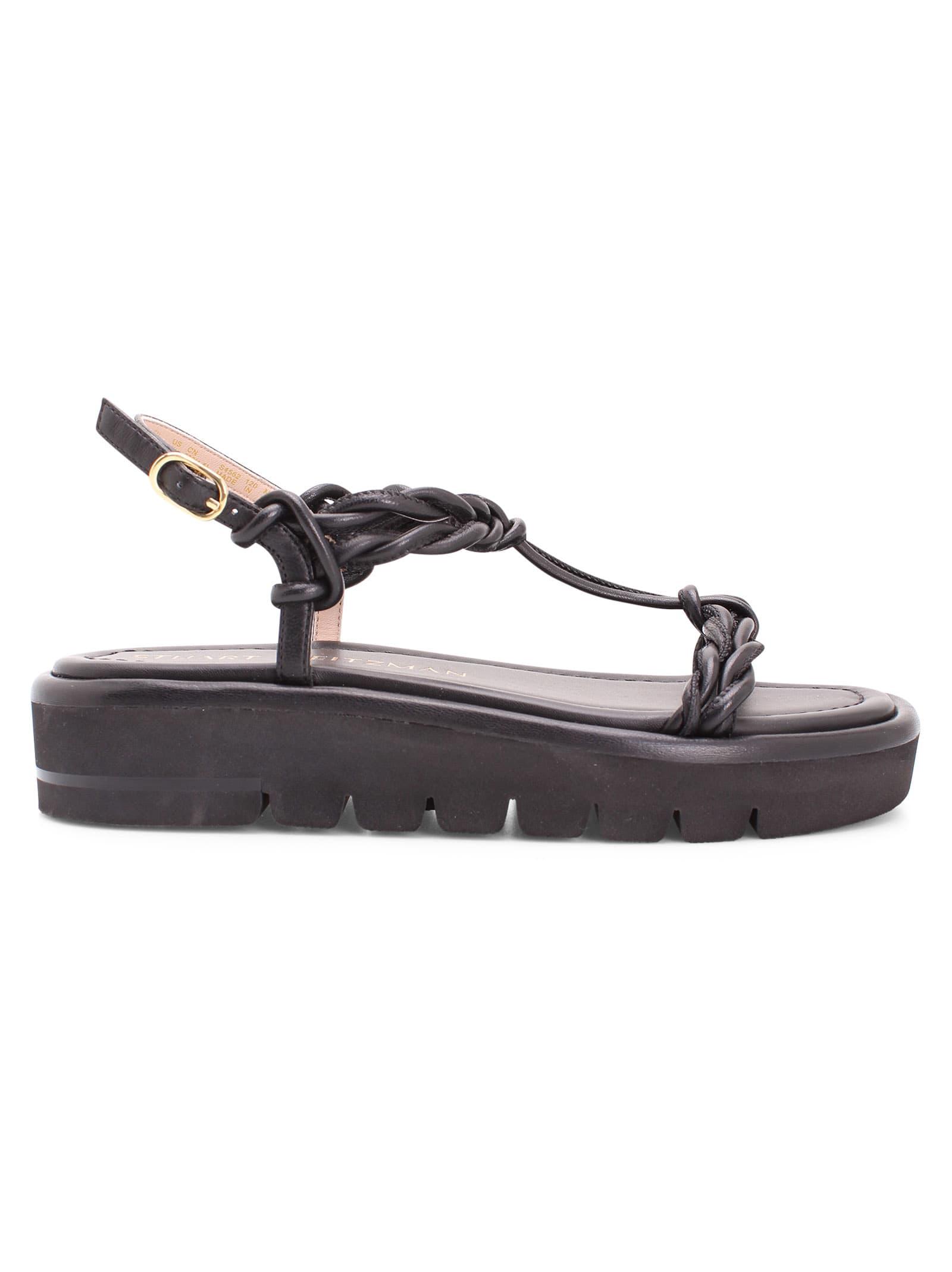 Stuart Weitzman calypso Leather Flat Shoes