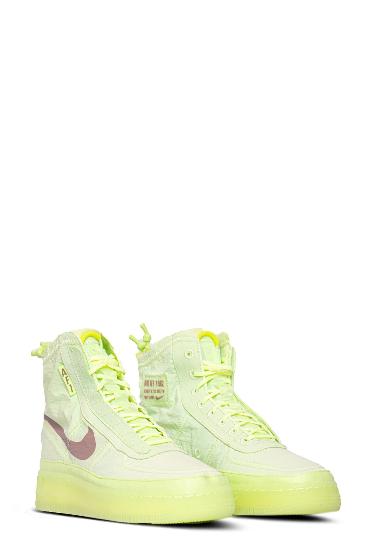 nike air force 1 verde fluo