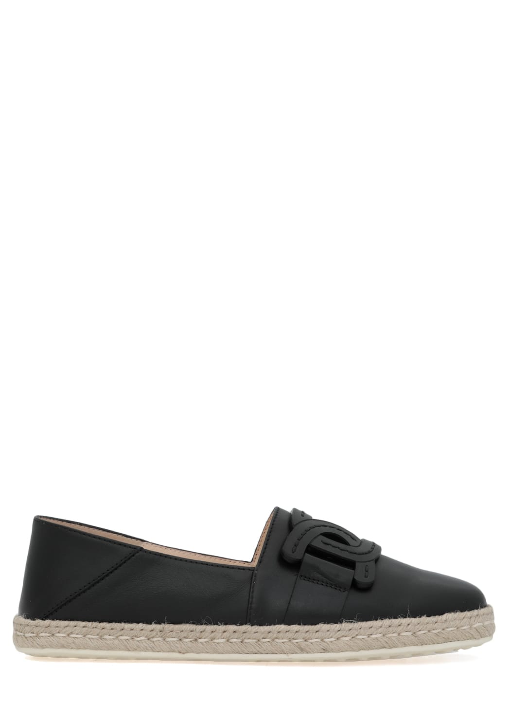 Buy Tods Leather Slip-on online, shop Tods shoes with free shipping