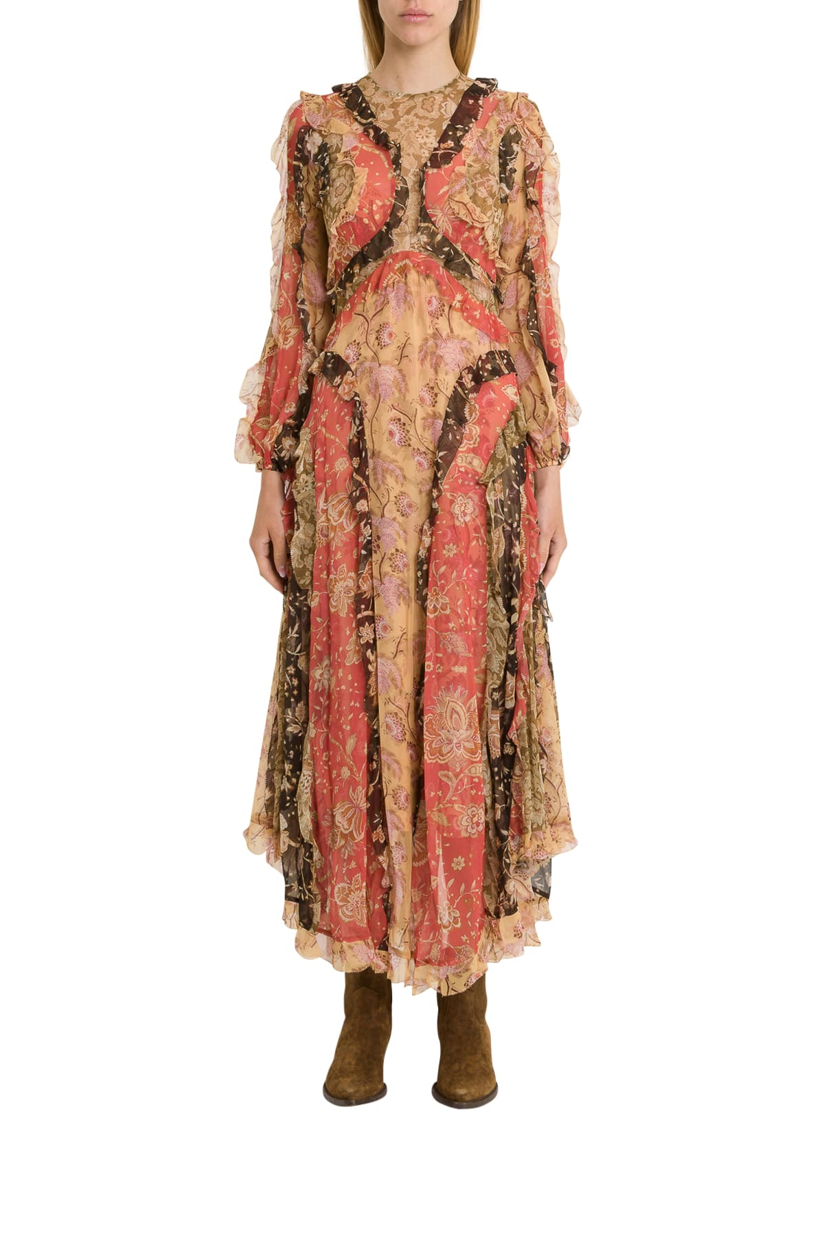 Photo of  Zimmermann Veneto Flounce Long Dress- shop Zimmermann  online sales