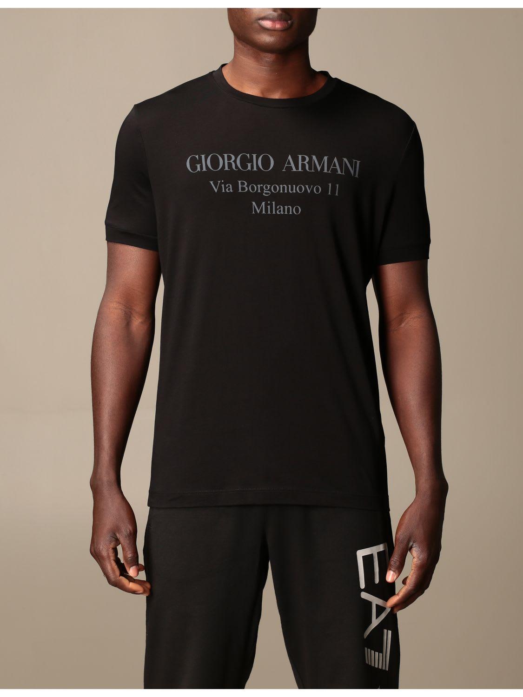 Giorgio Armani T-shirt Giorgio Armani Cotton T-shirt With Logo