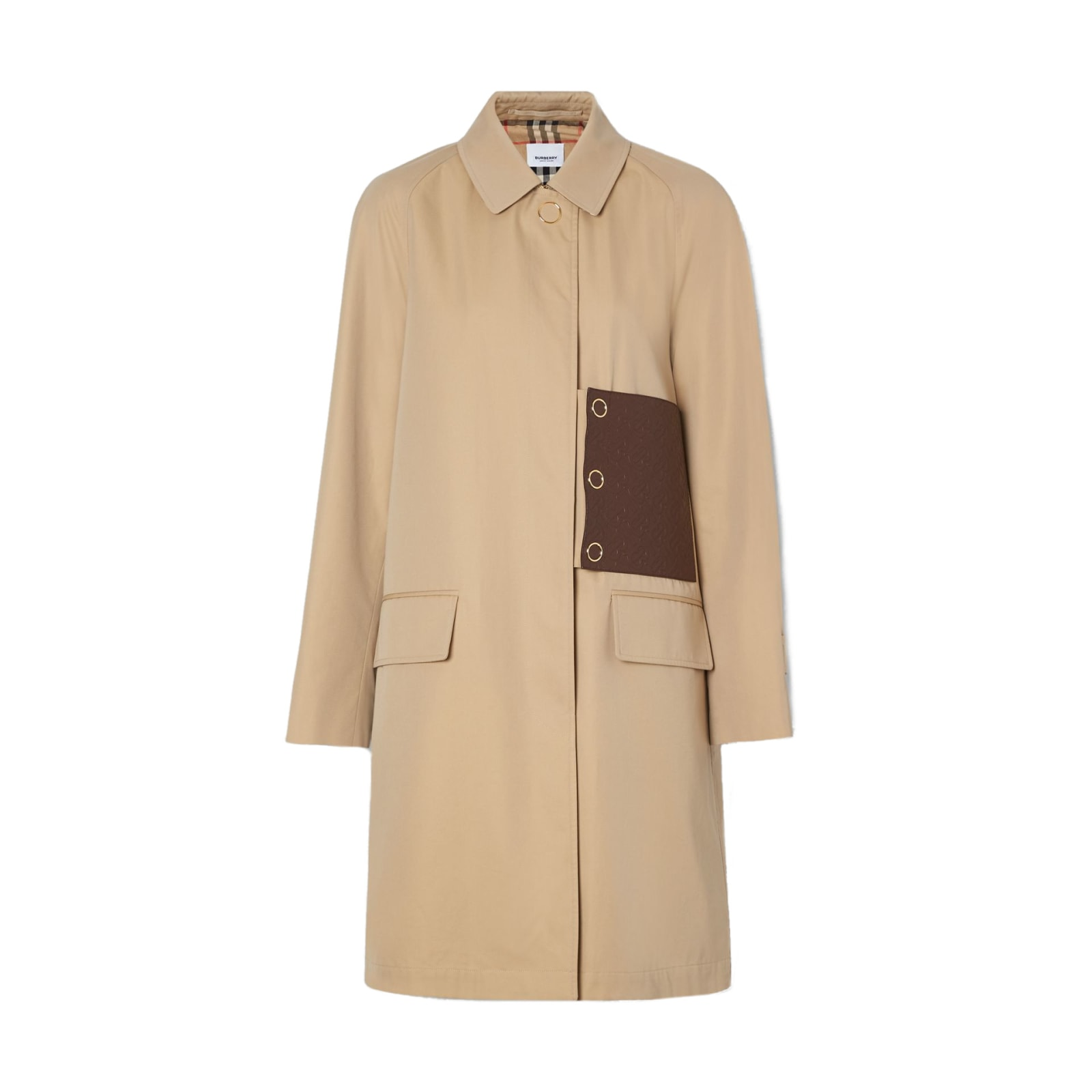 Burberry Bodmin W S Breasted Coat