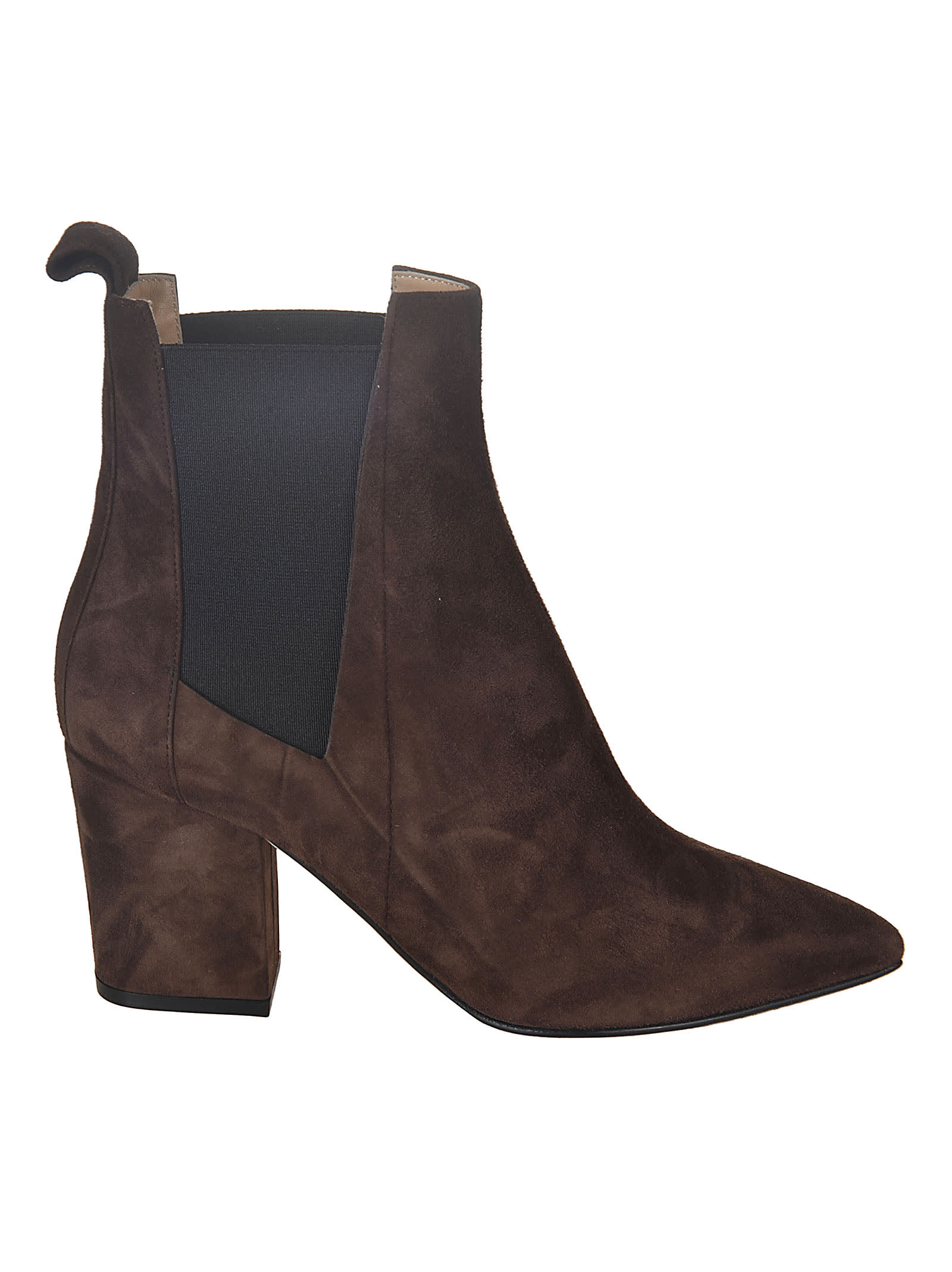 Buy Sergio Rossi Side Elastic Detail Boots online, shop Sergio Rossi shoes with free shipping