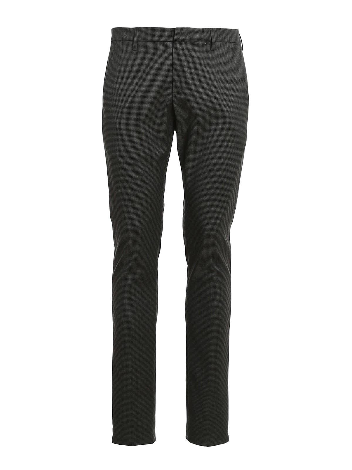 Dondup Pants GAUBERT PIED DE POULLE PANTS