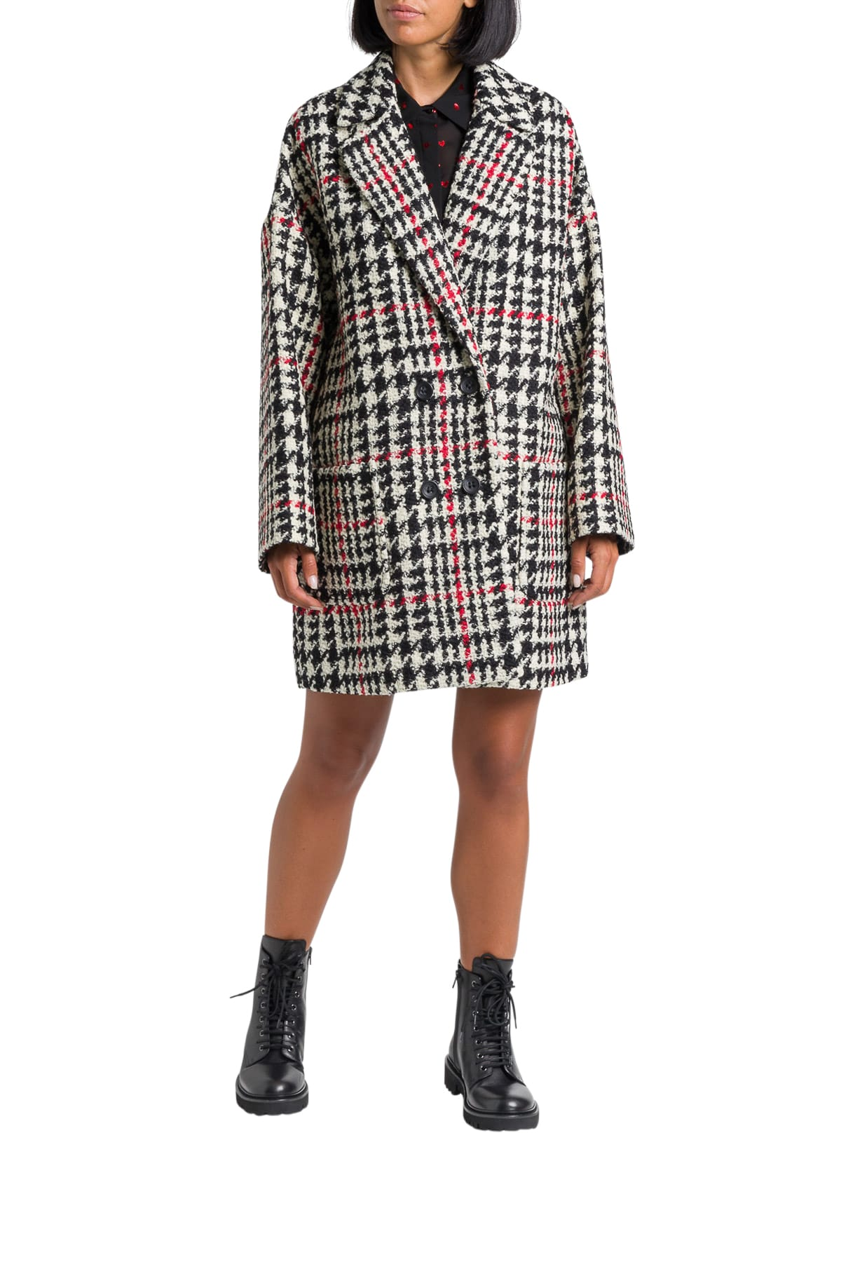 RED Valentino Piede-de-poule Oversized Kaban