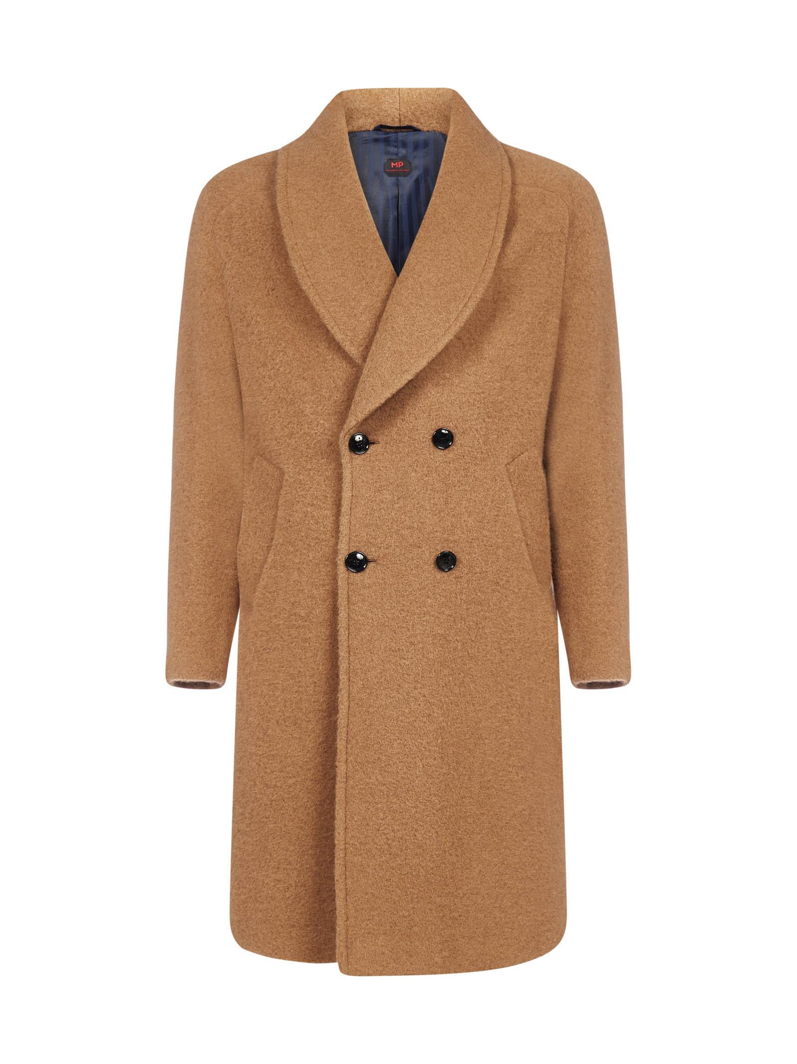 Robbie Double-breasted Alpaca Coat