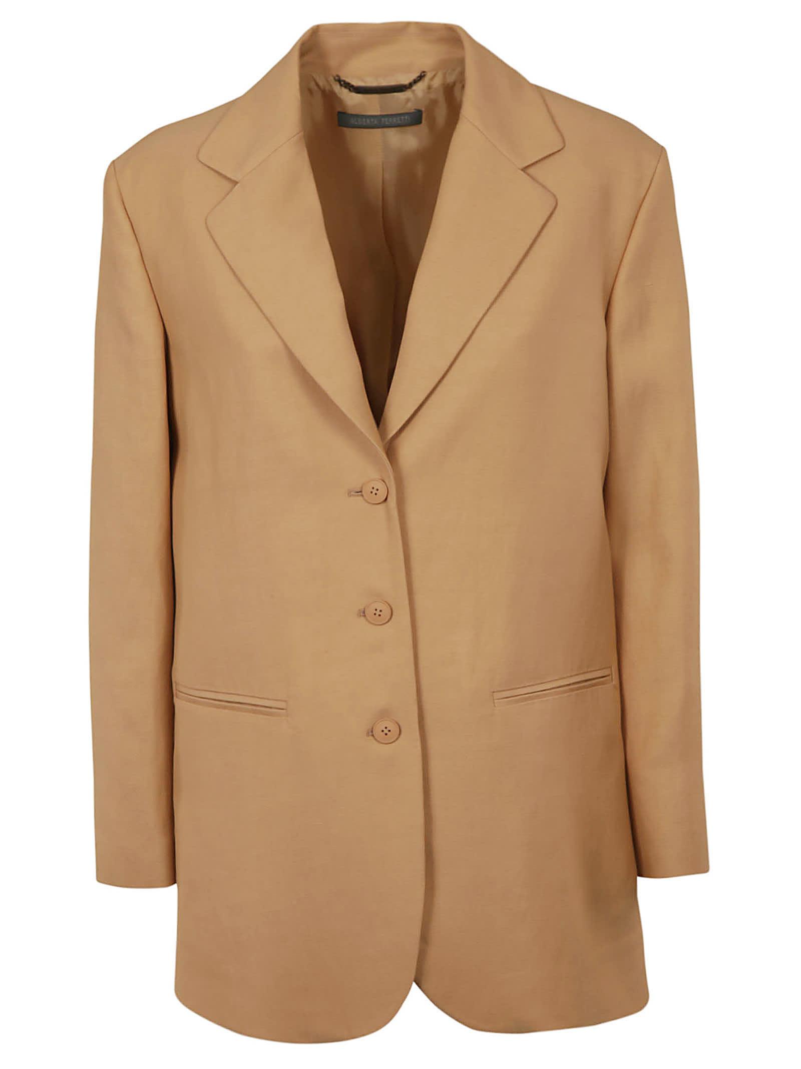 Alberta Ferretti Single Breasted Jacket