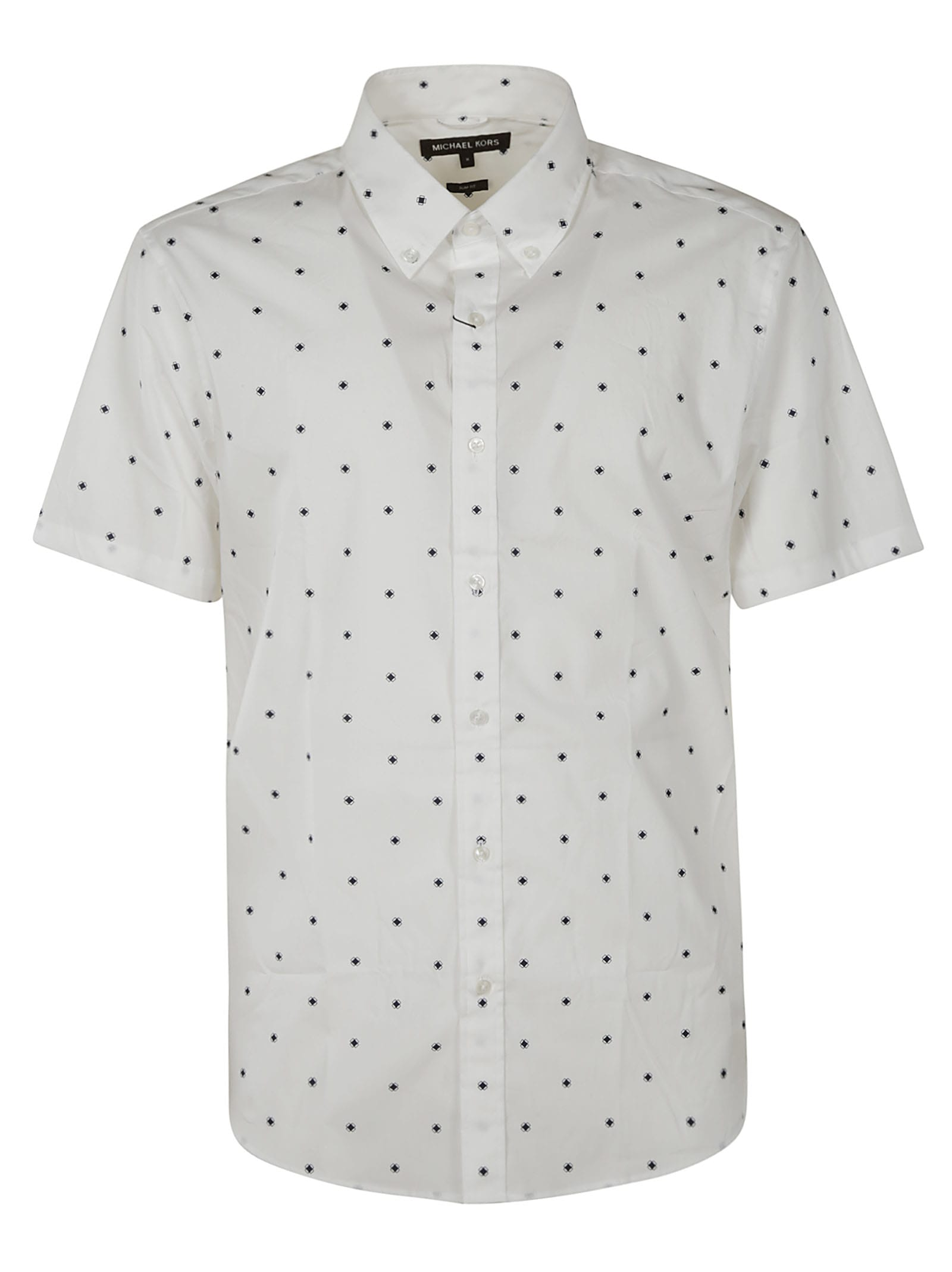 Michael Kors Dotted Print Short-sleeve Shirt