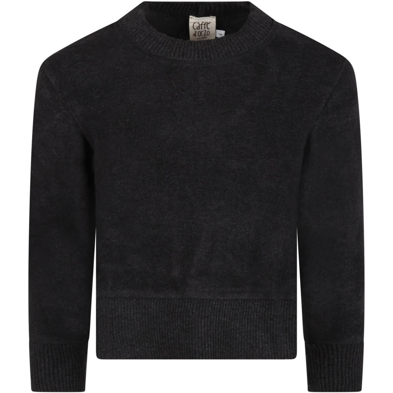 Caffe dOrzo Balck barbara Sweater For Girl
