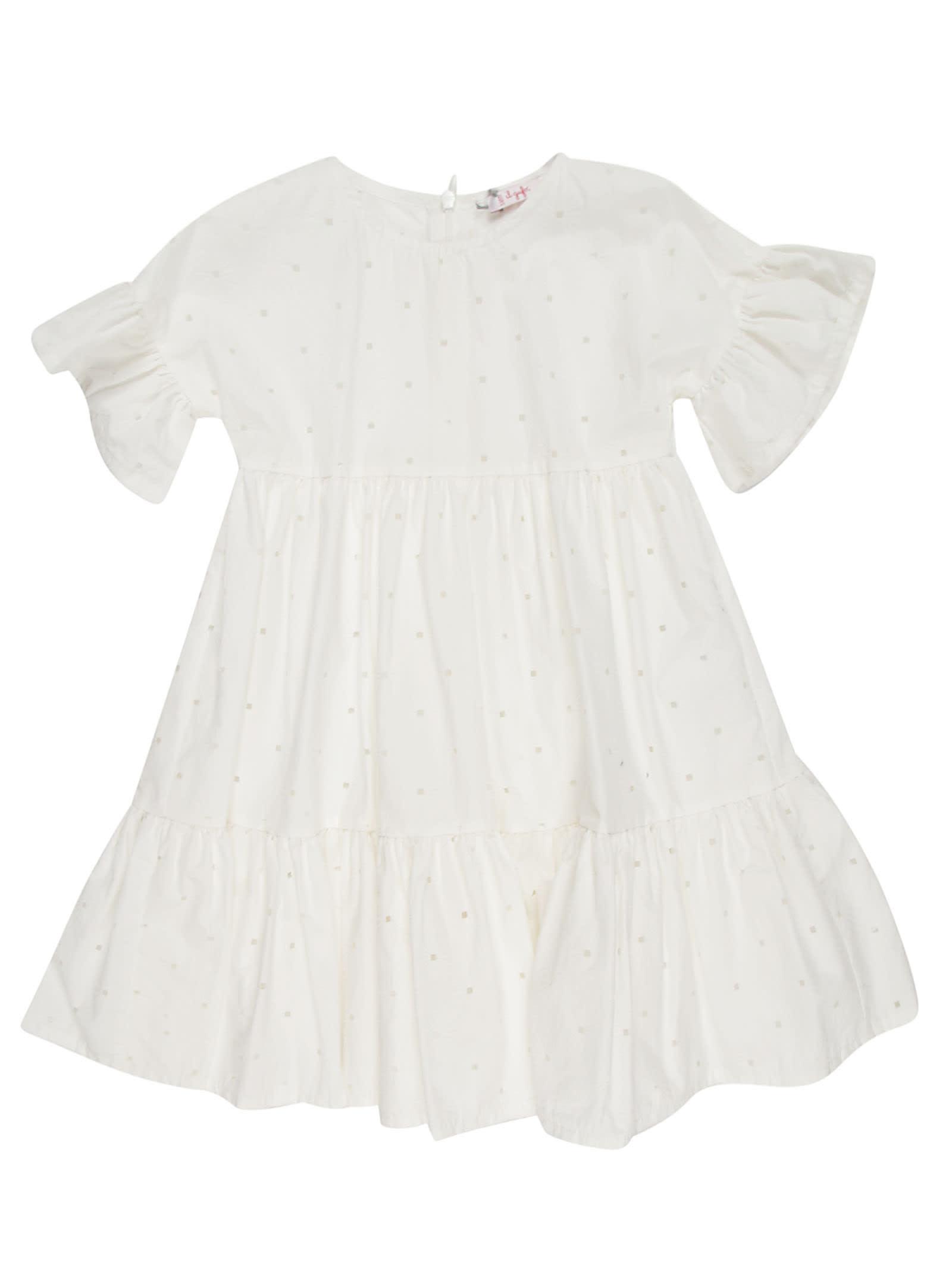 Il Gufo Il Gufo Cut-out Detail Dress