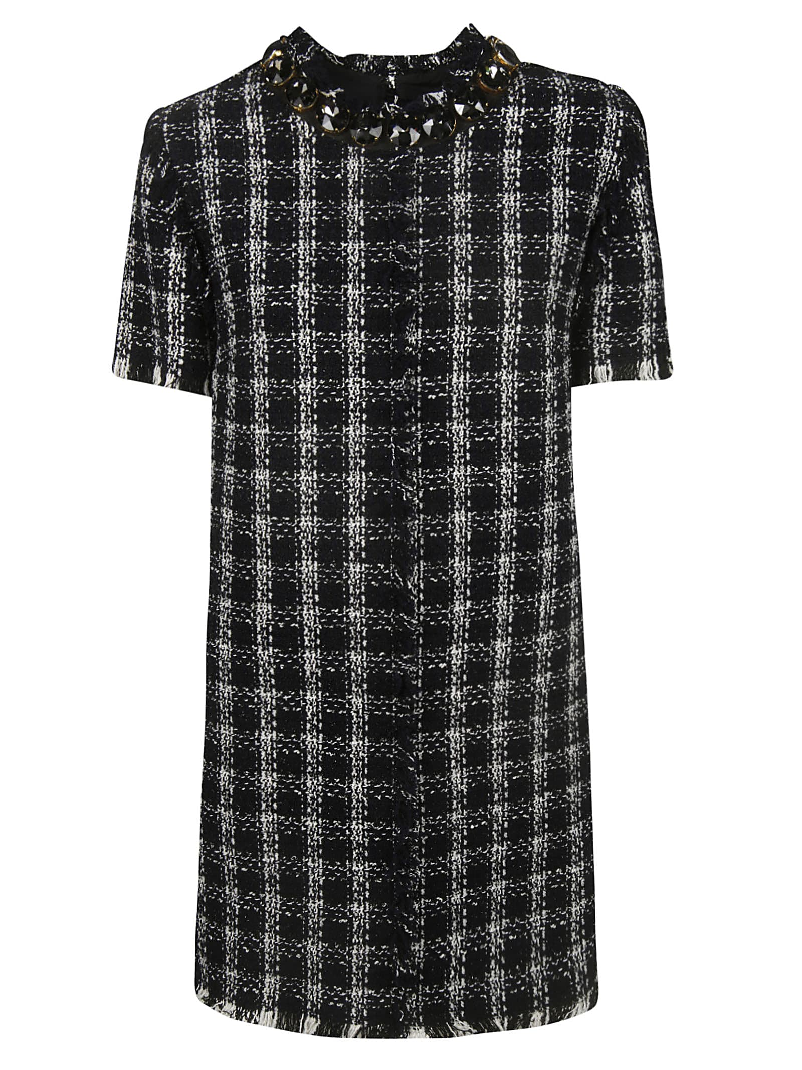 MSGM Checked Dress