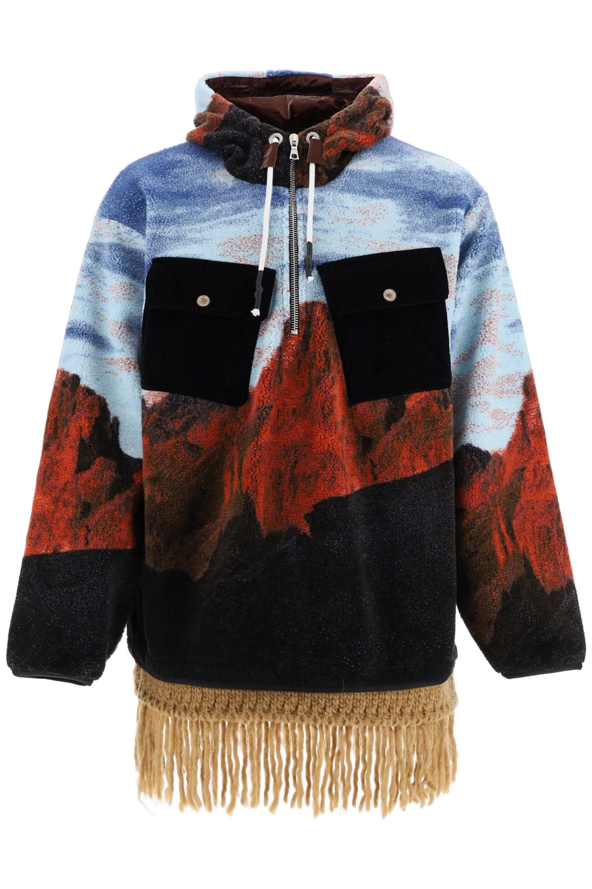 Palm Angels Canyon Fleece Jacket
