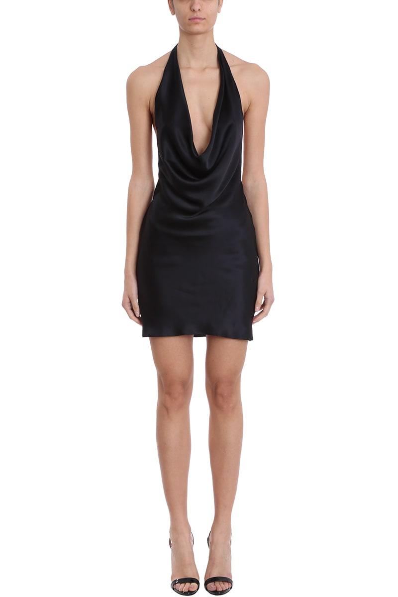 Stella McCartney Black Silk Dress